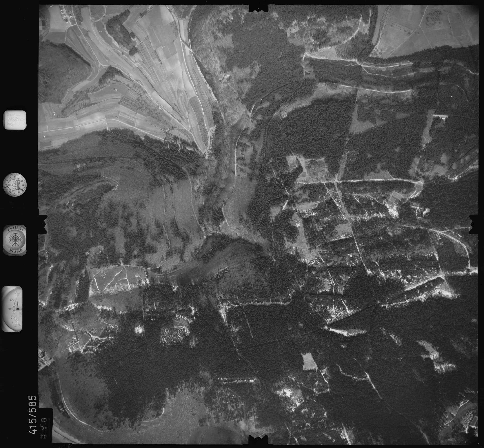 Luftbild: Film 6 Bildnr. 458, Bild 1
