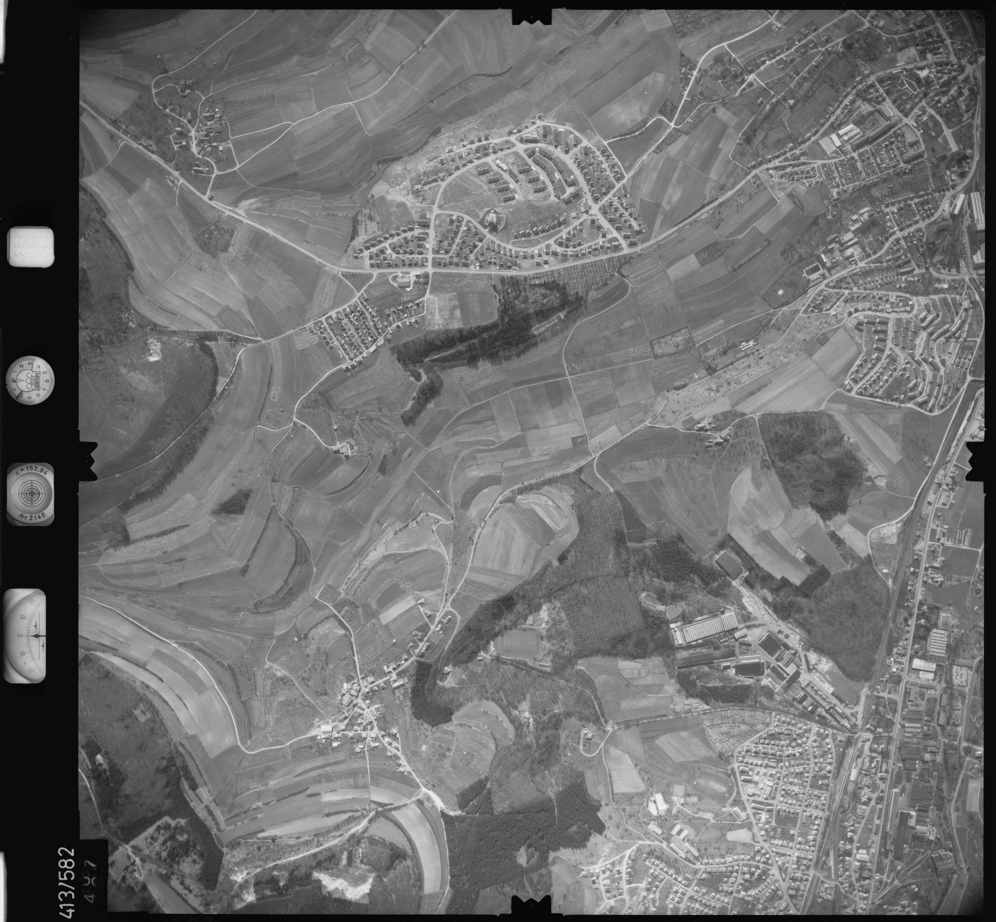 Luftbild: Film 6 Bildnr. 507, Bild 1