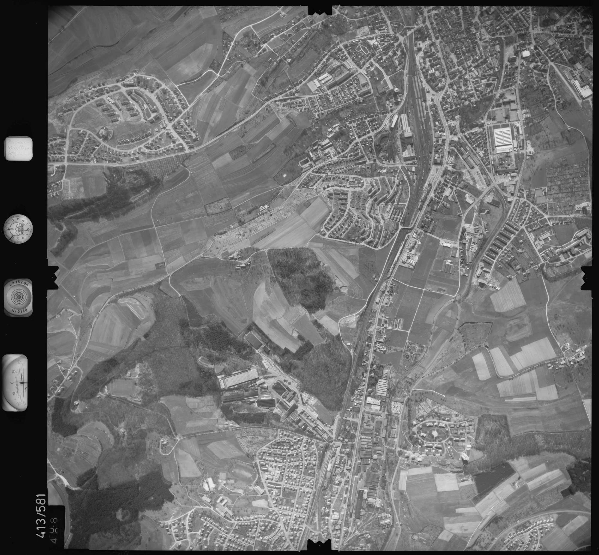 Luftbild: Film 6 Bildnr. 508, Bild 1