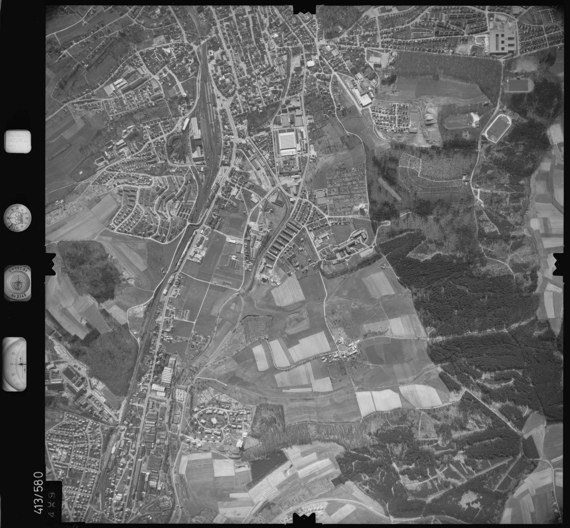 Luftbild: Film 6 Bildnr. 509, Bild 1