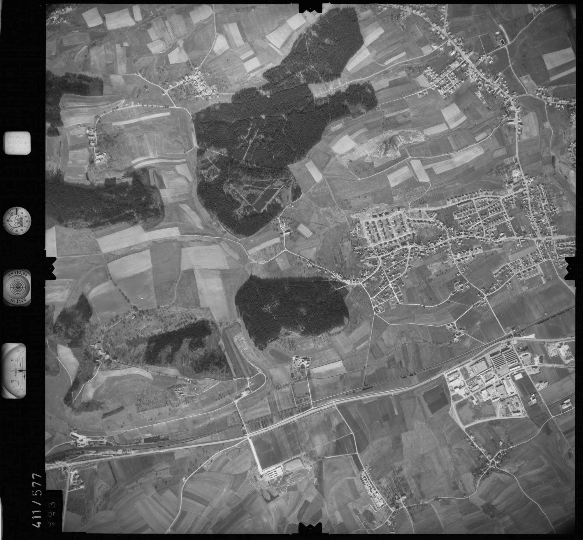 Luftbild: Film 7 Bildnr. 583, Bild 1