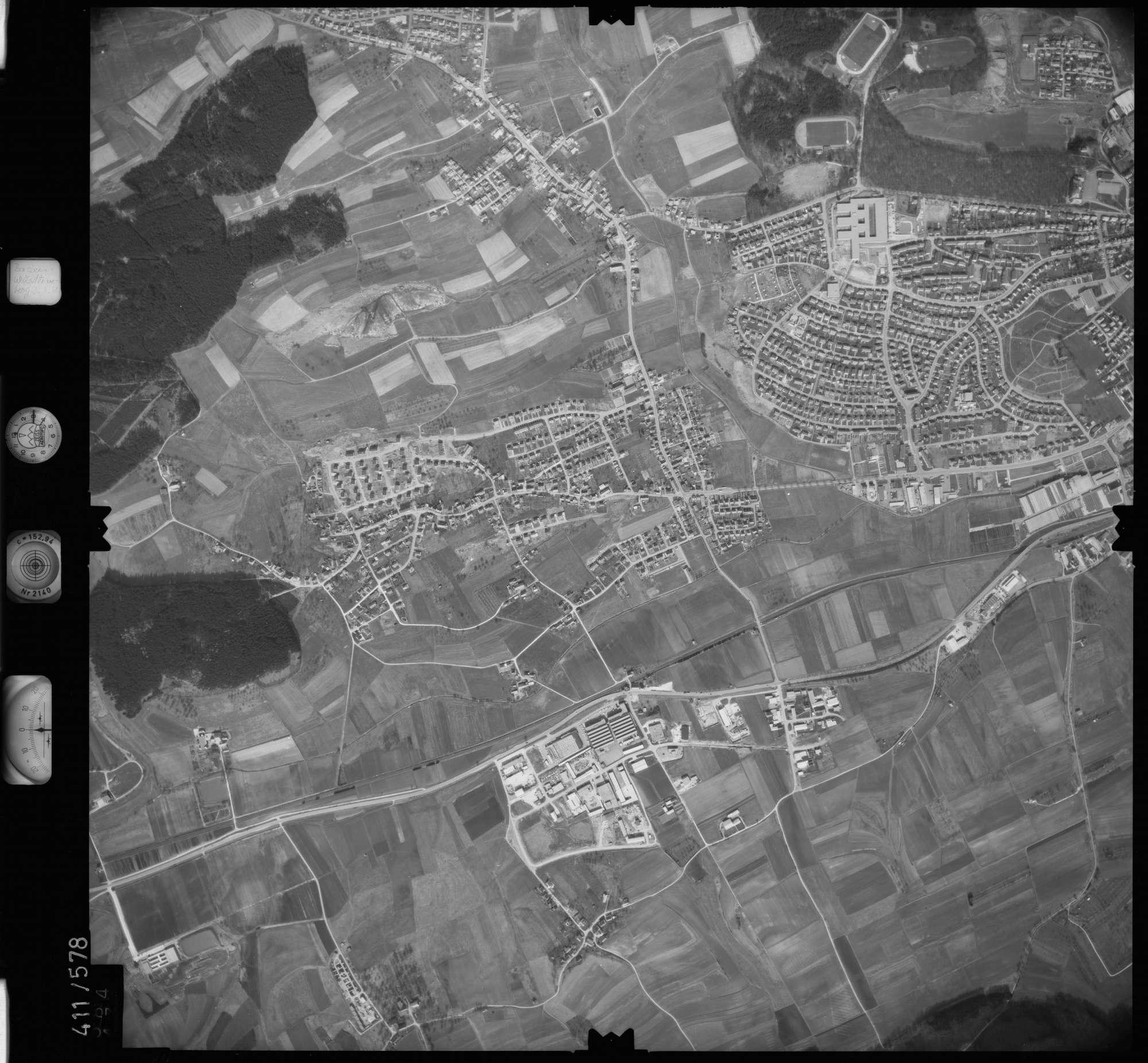Luftbild: Film 7 Bildnr. 584, Bild 1
