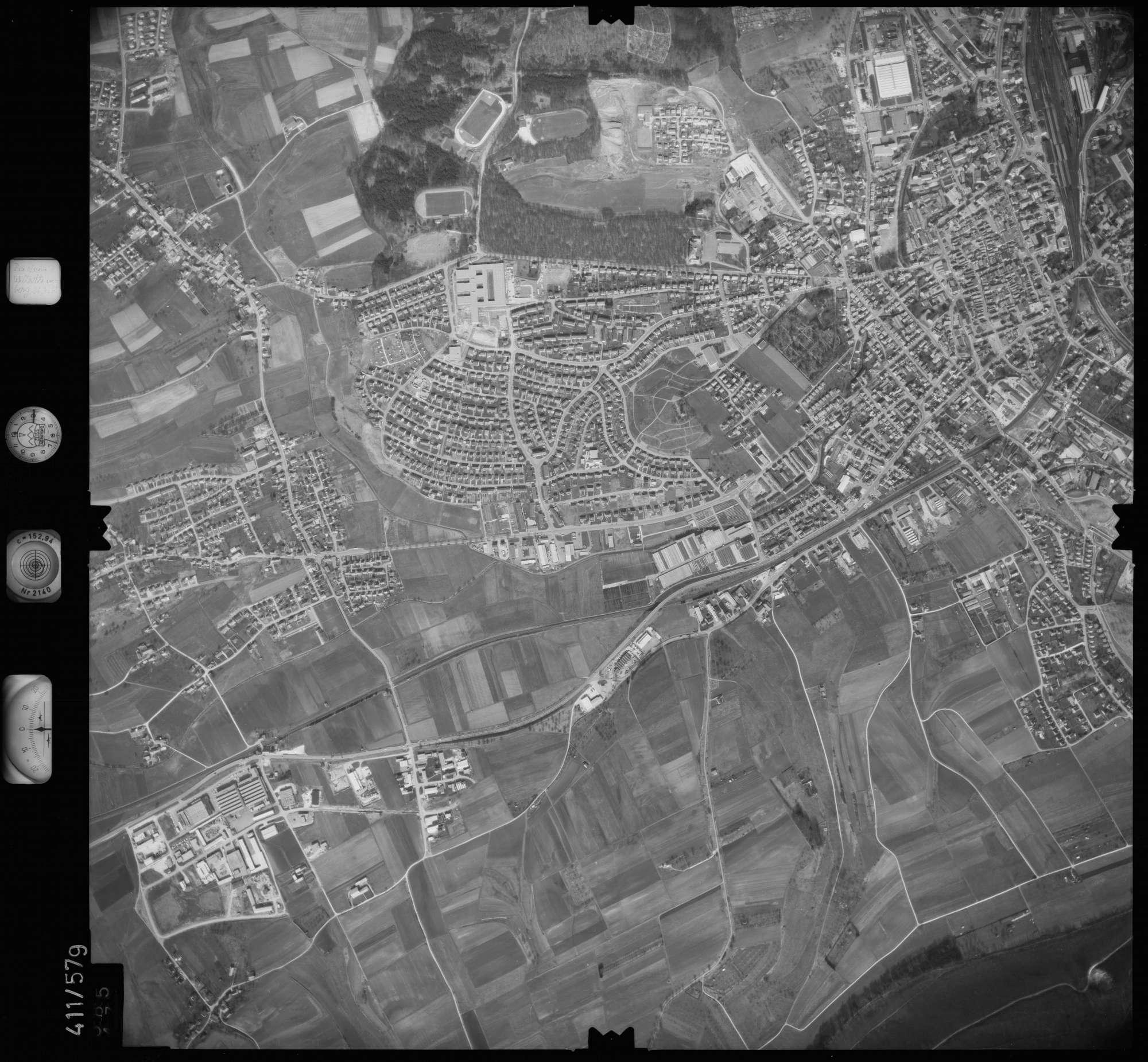Luftbild: Film 7 Bildnr. 585, Bild 1