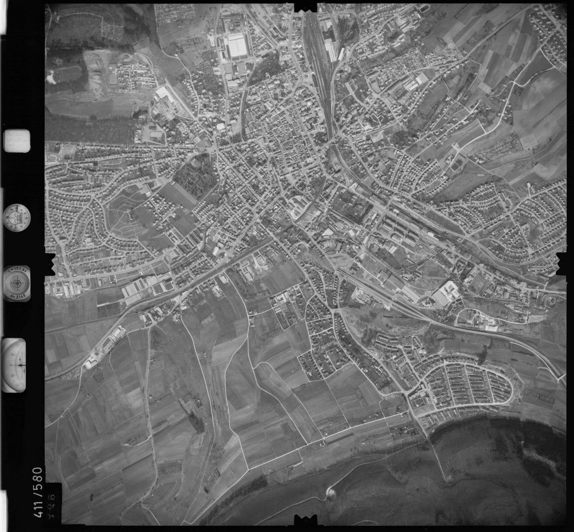 Luftbild: Film 7 Bildnr. 586, Bild 1