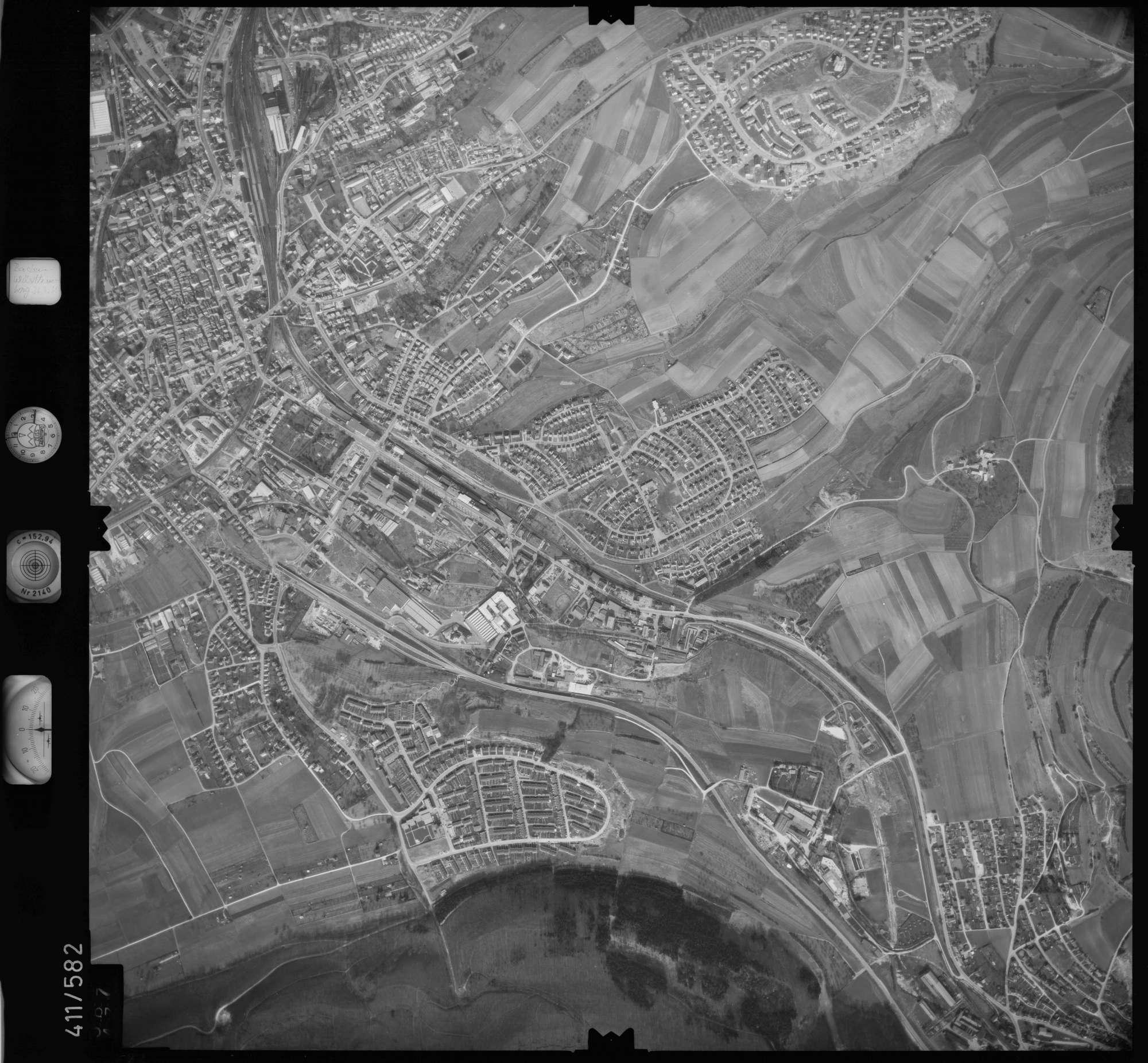 Luftbild: Film 7 Bildnr. 587, Bild 1