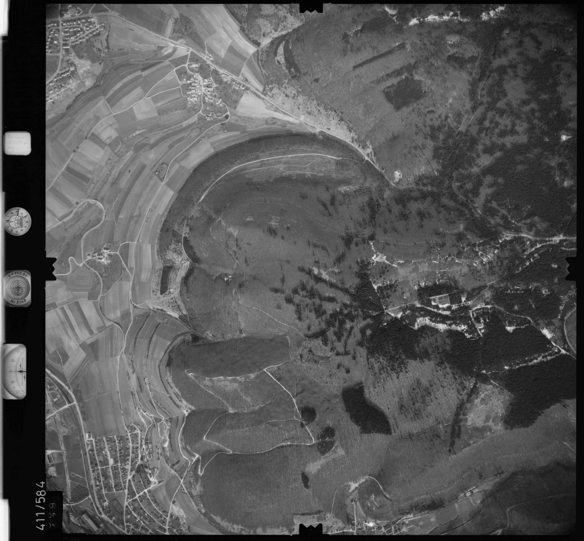 Luftbild: Film 7 Bildnr. 589, Bild 1