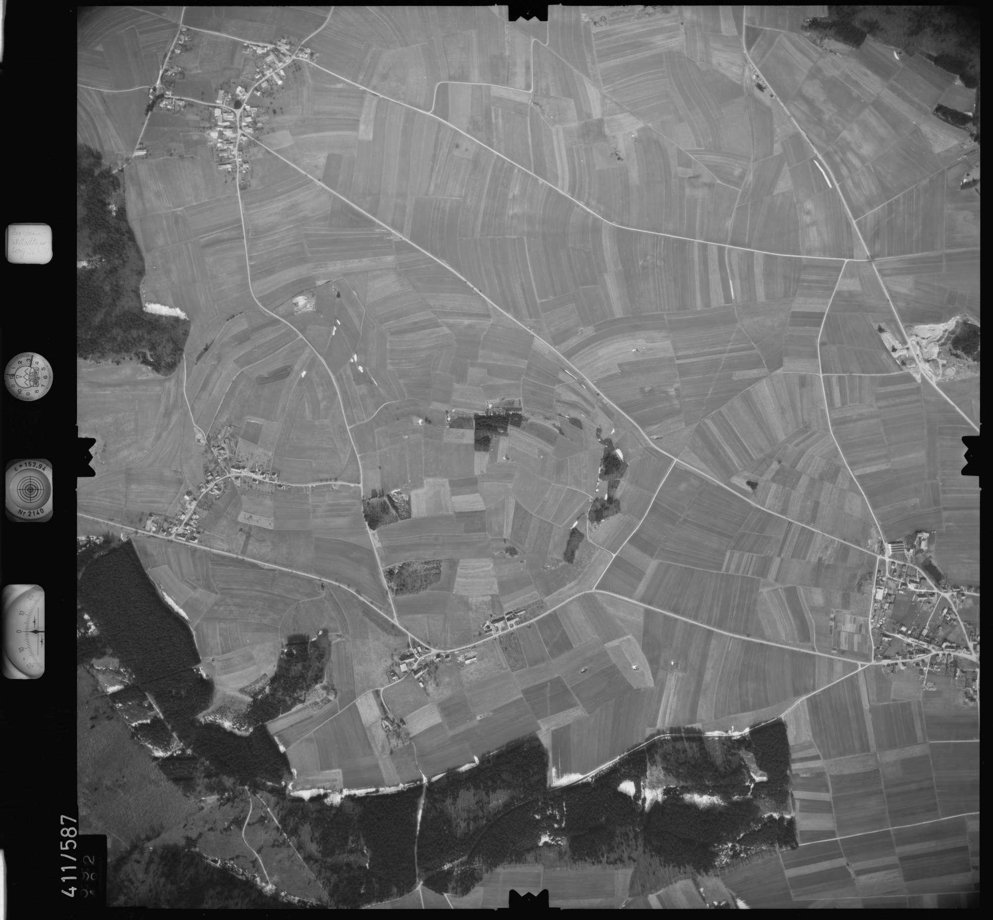 Luftbild: Film 7 Bildnr. 592, Bild 1