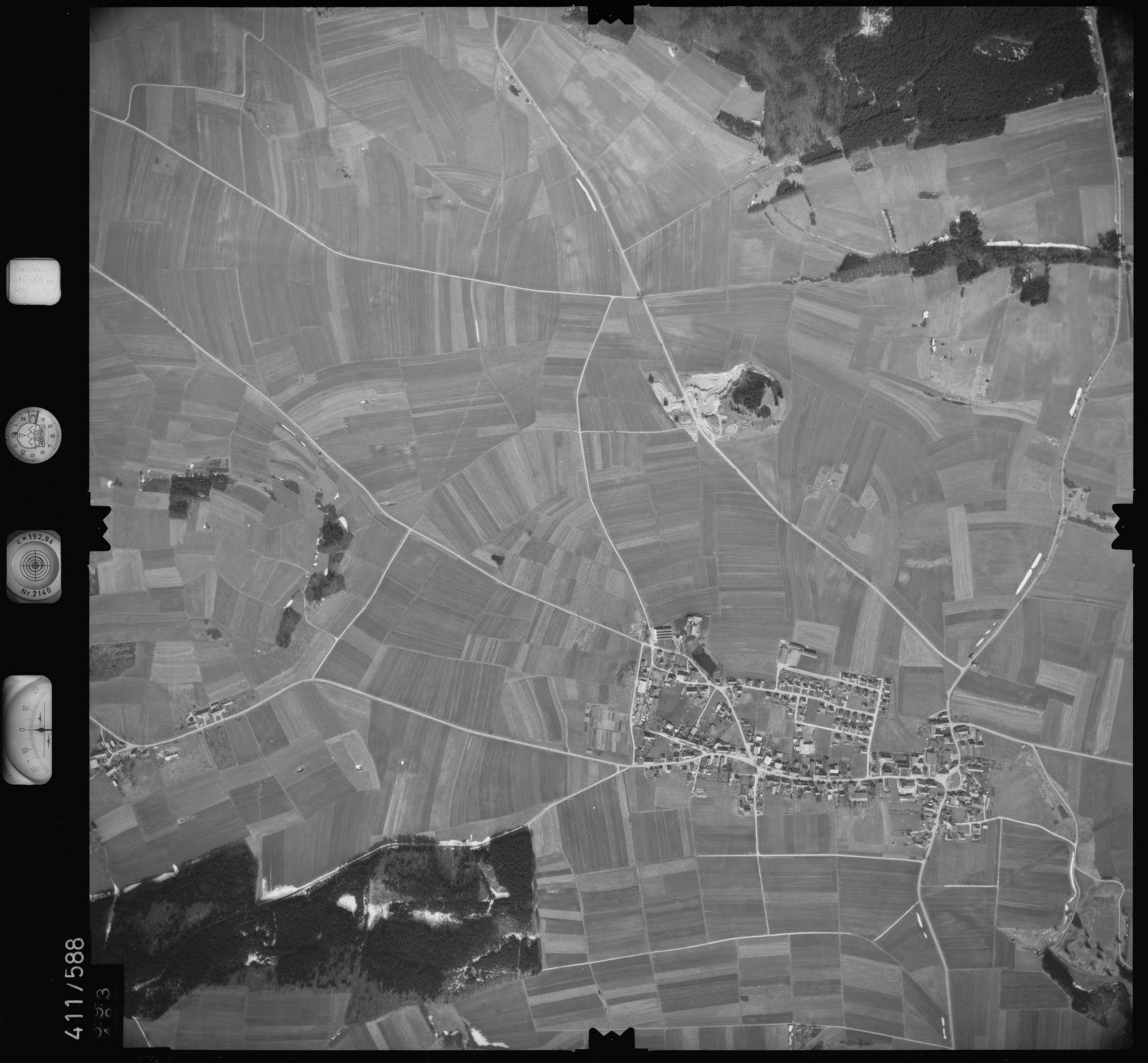 Luftbild: Film 7 Bildnr. 593, Bild 1