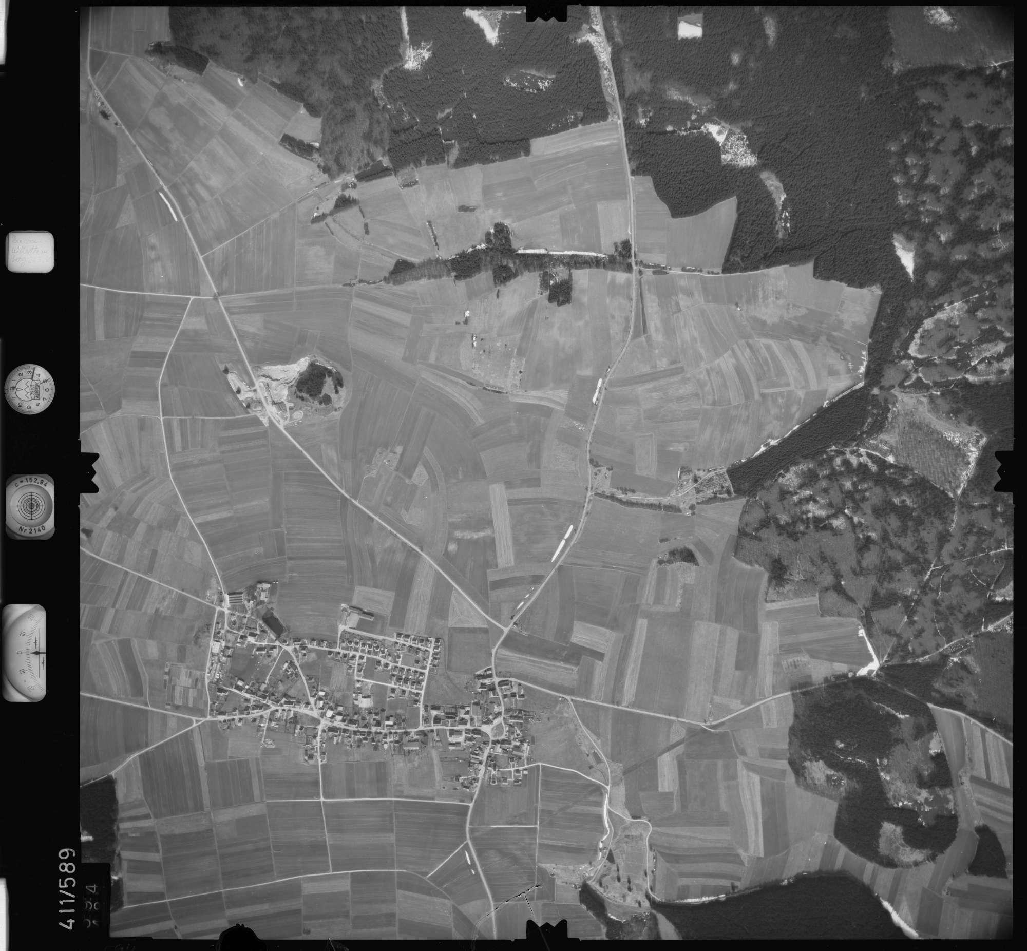 Luftbild: Film 7 Bildnr. 594, Bild 1