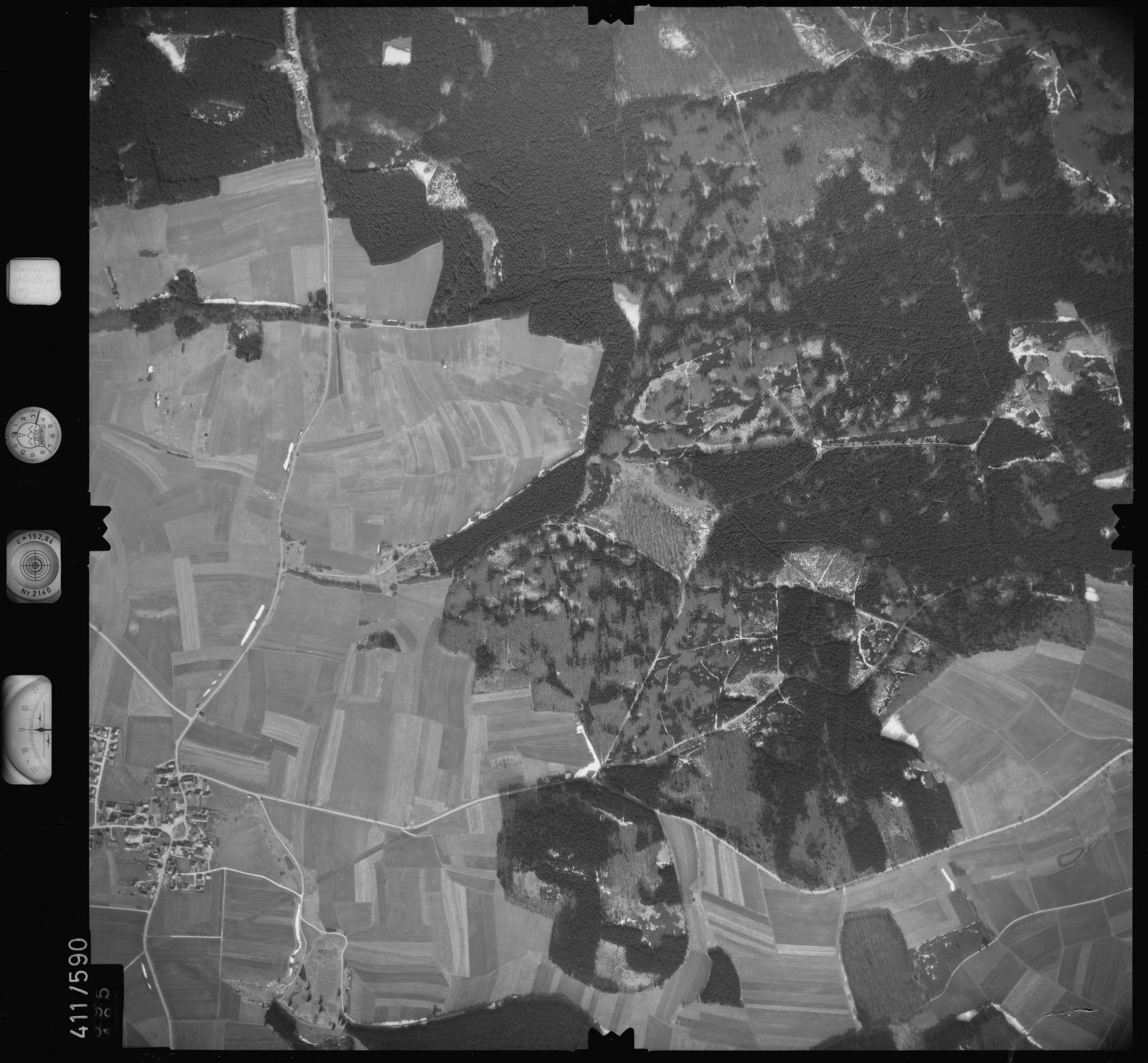 Luftbild: Film 7 Bildnr. 595, Bild 1