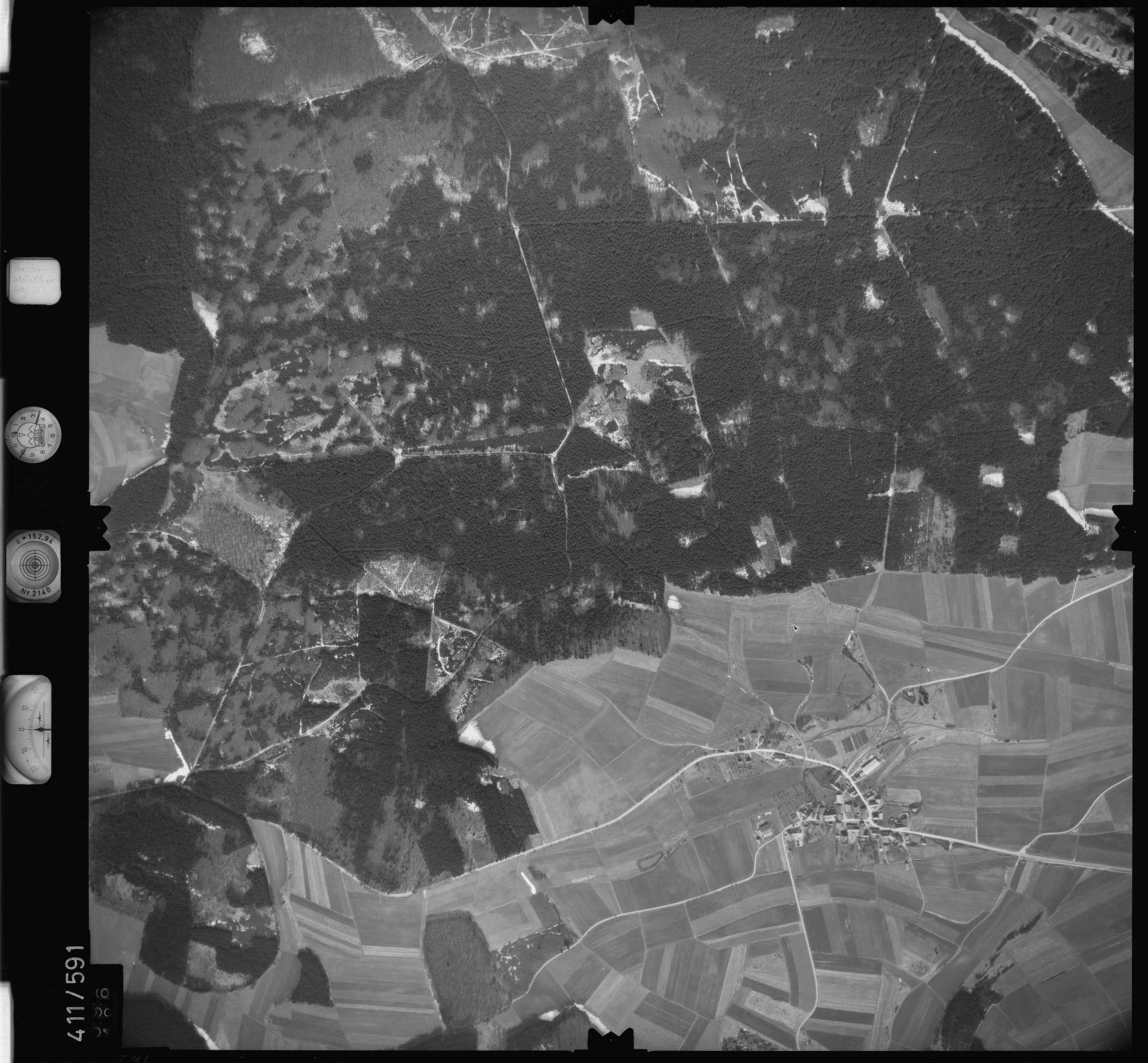 Luftbild: Film 7 Bildnr. 596, Bild 1