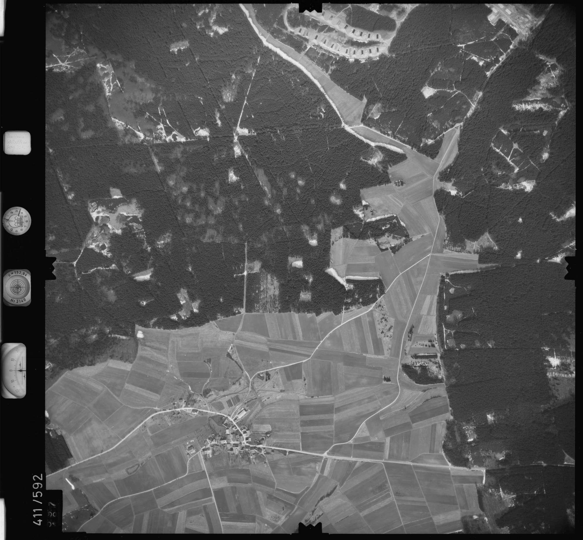 Luftbild: Film 7 Bildnr. 597, Bild 1