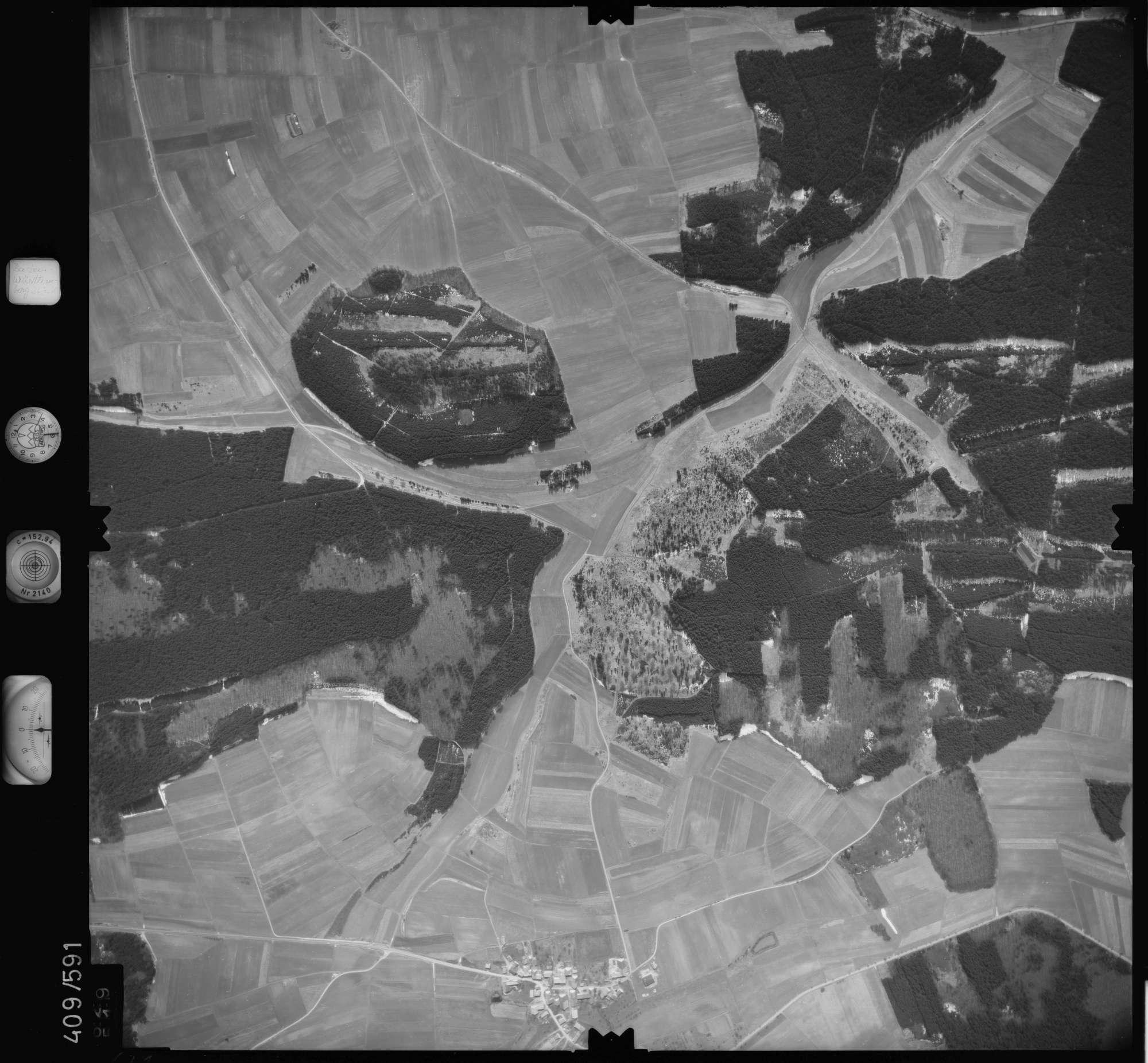 Luftbild: Film 7 Bildnr. 629, Bild 1