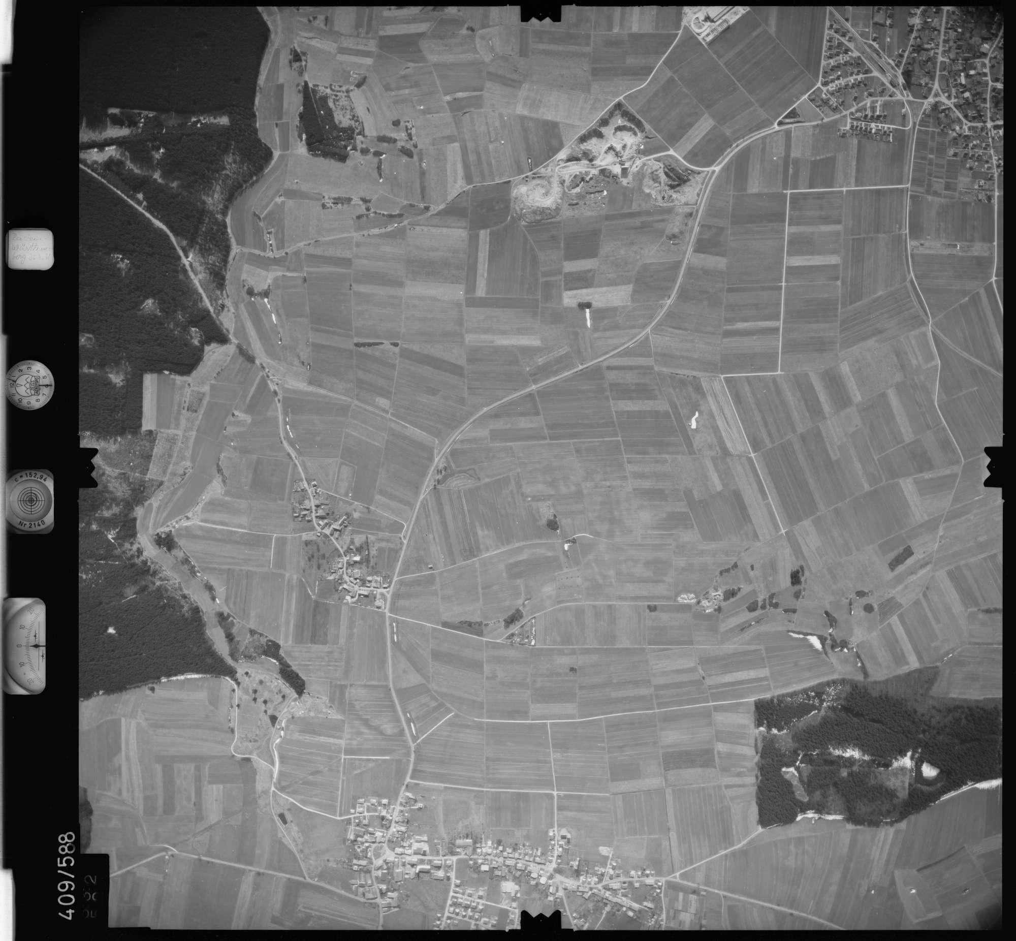 Luftbild: Film 7 Bildnr. 632, Bild 1