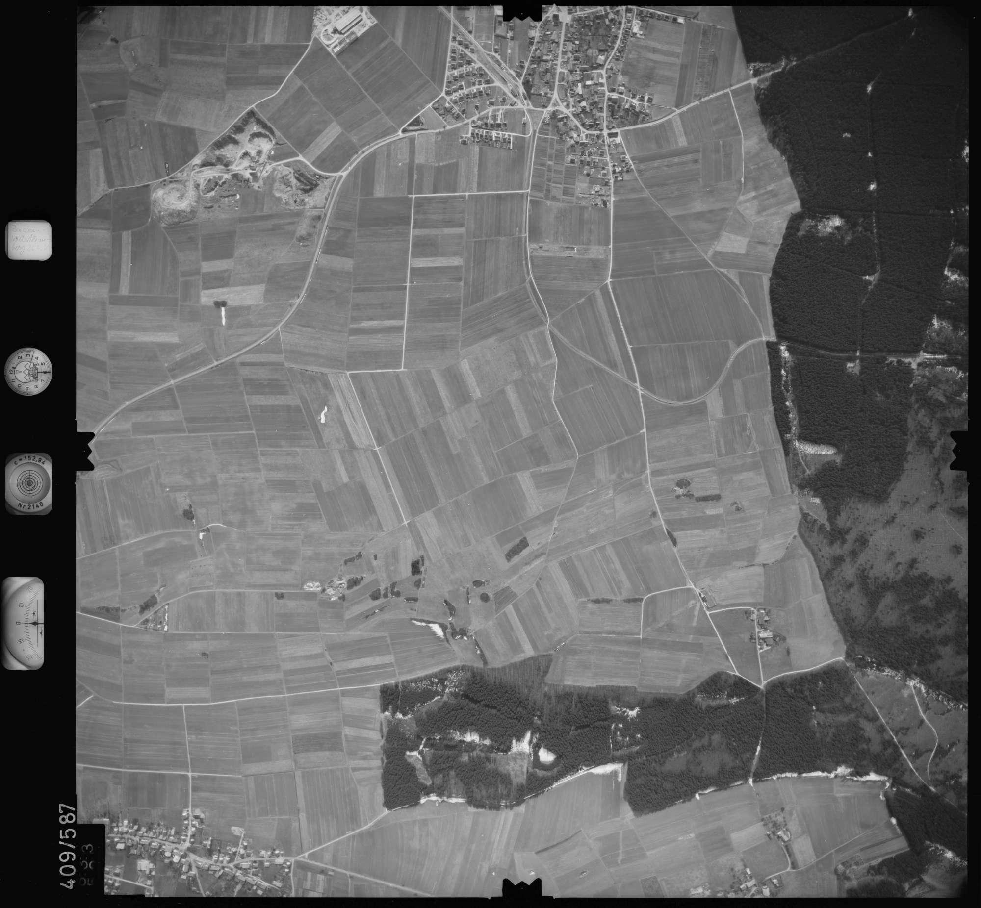 Luftbild: Film 7 Bildnr. 633, Bild 1