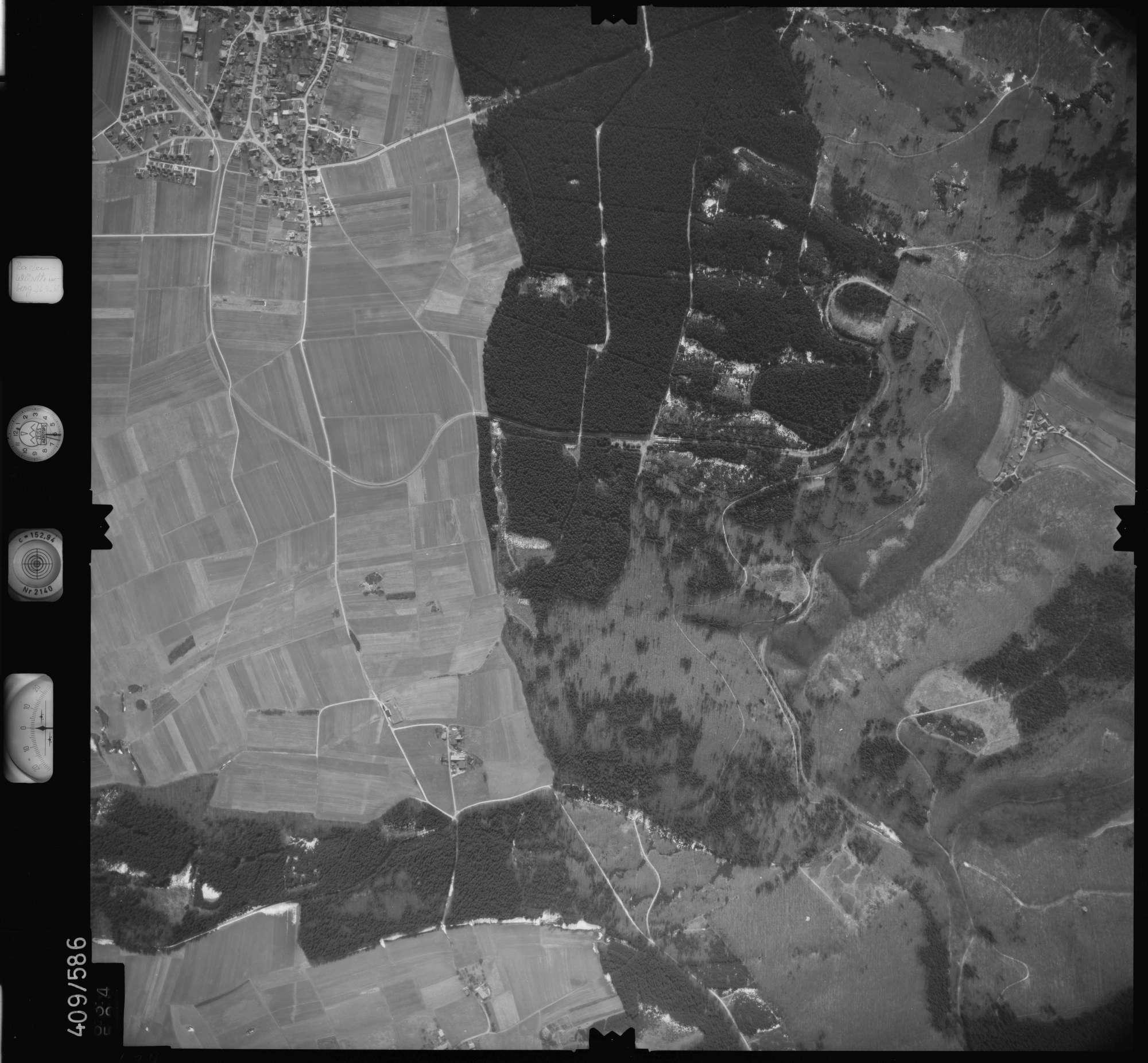 Luftbild: Film 7 Bildnr. 634, Bild 1