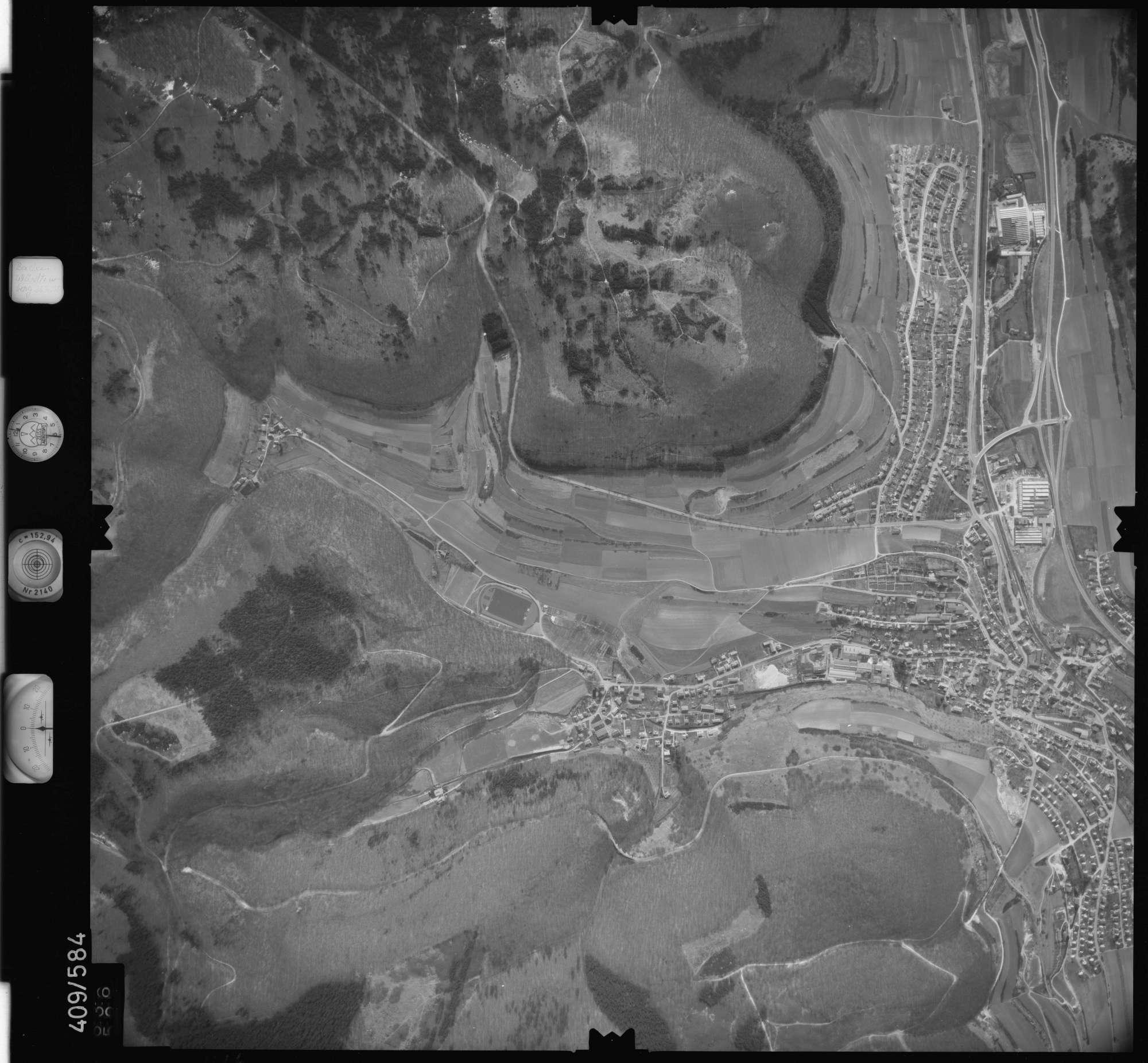 Luftbild: Film 7 Bildnr. 636, Bild 1
