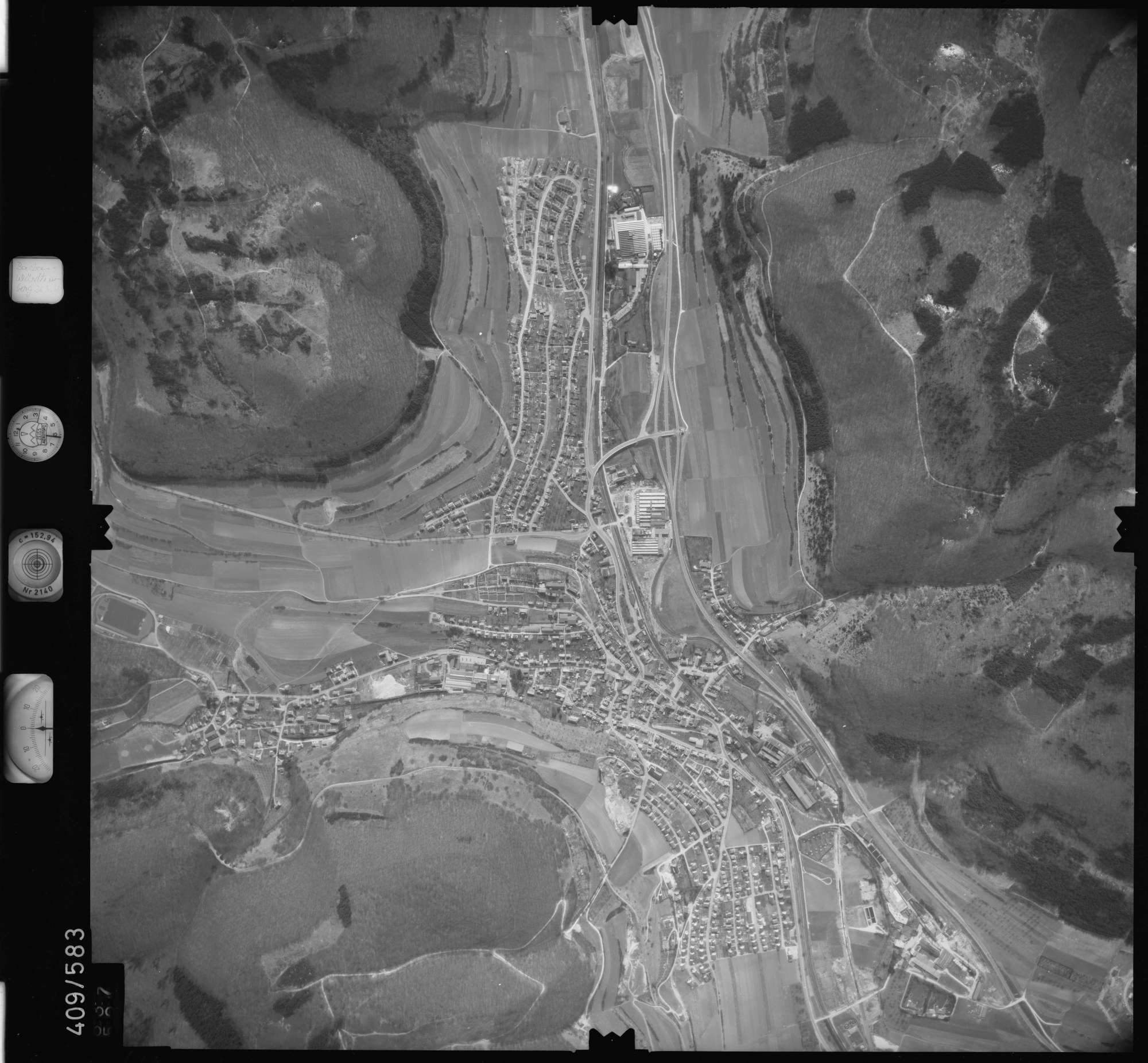 Luftbild: Film 7 Bildnr. 637, Bild 1