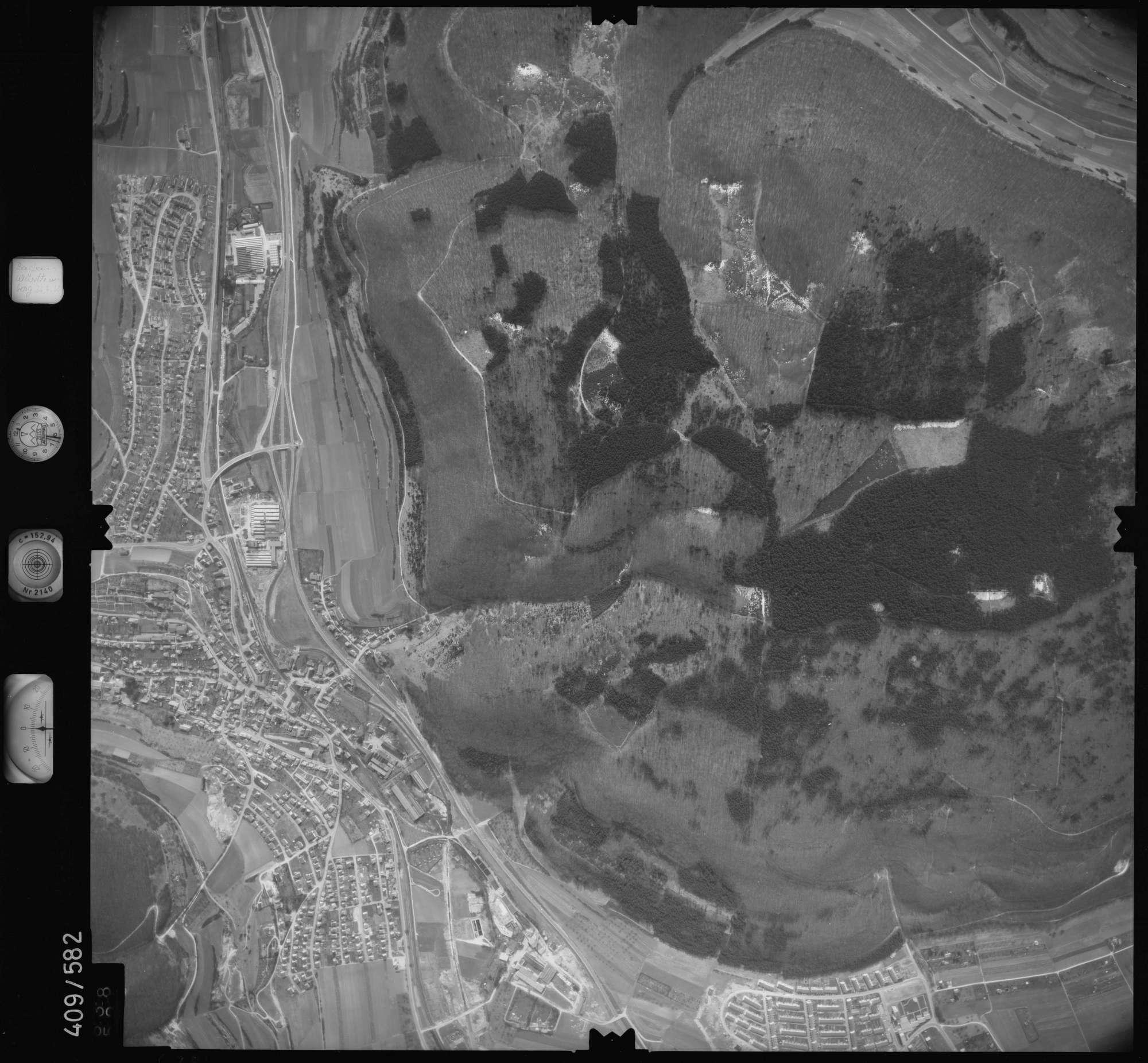 Luftbild: Film 7 Bildnr. 638, Bild 1