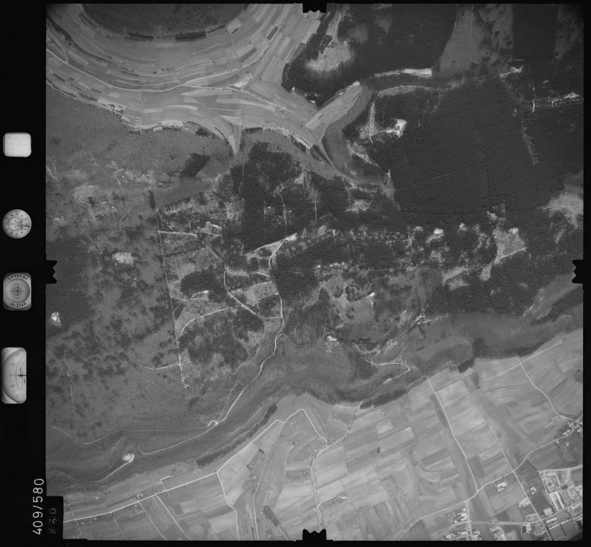 Luftbild: Film 7 Bildnr. 640, Bild 1
