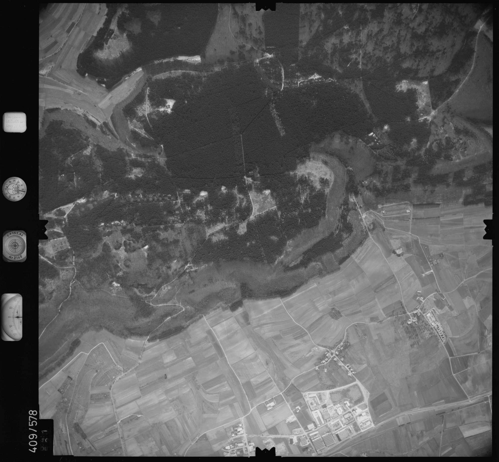 Luftbild: Film 7 Bildnr. 641, Bild 1