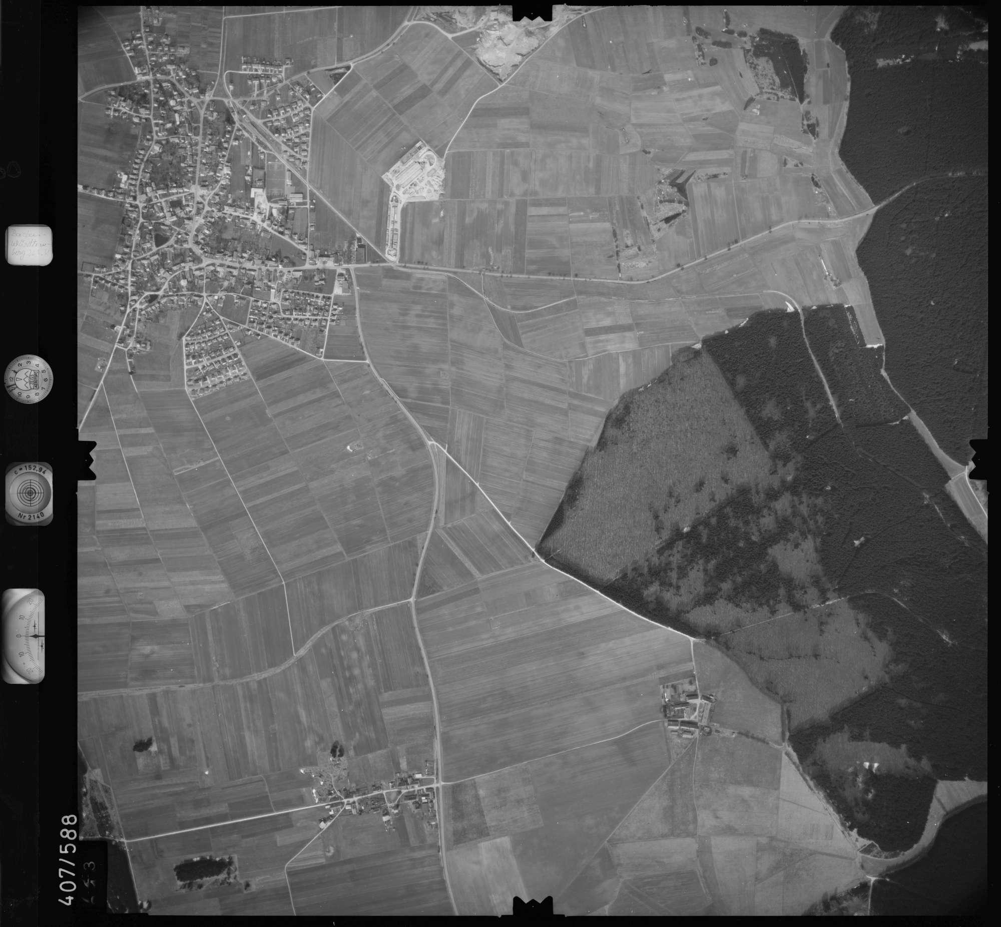 Luftbild: Film 7 Bildnr. 723, Bild 1