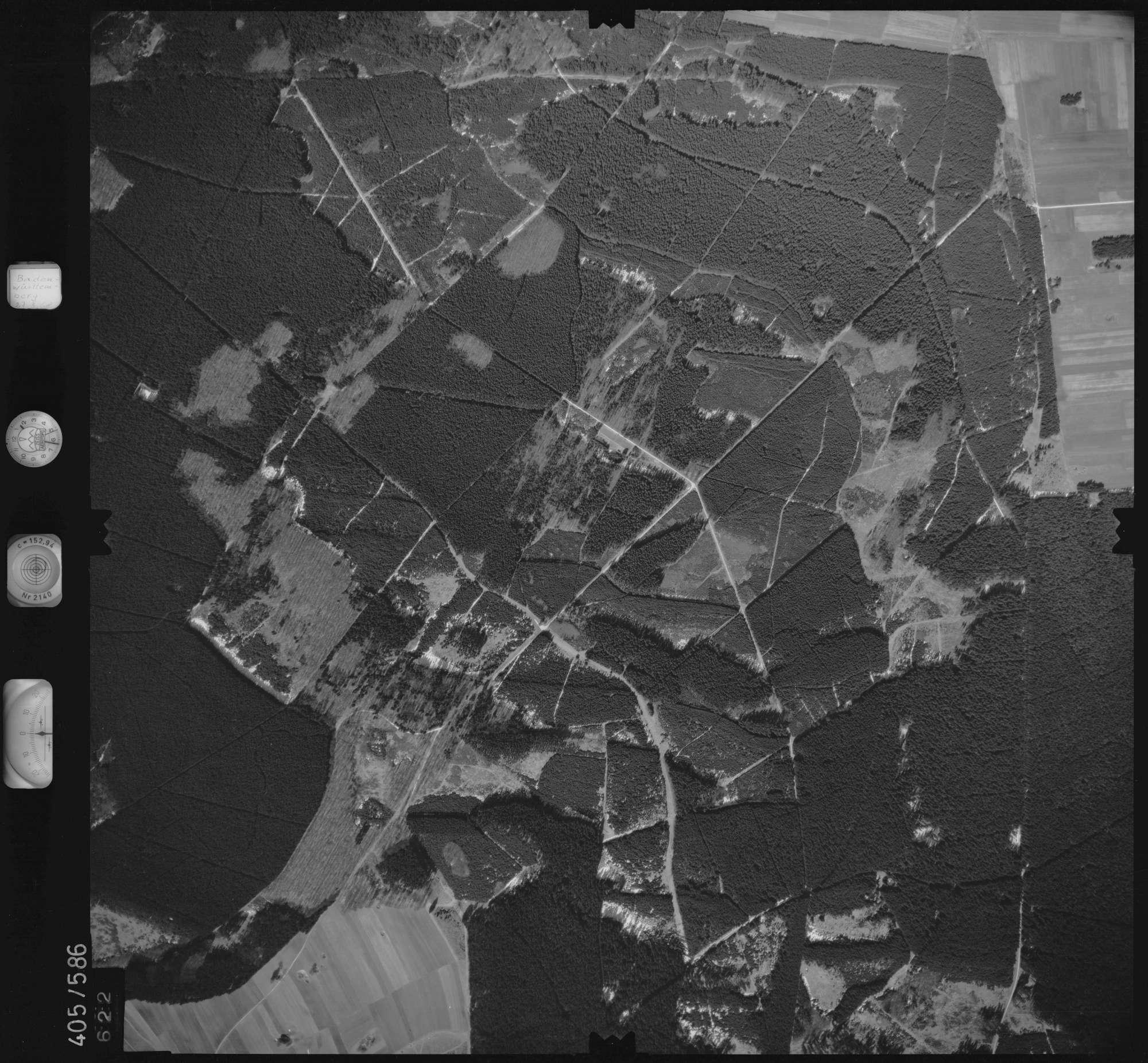 Luftbild: Film 10 Bildnr. 622, Bild 1