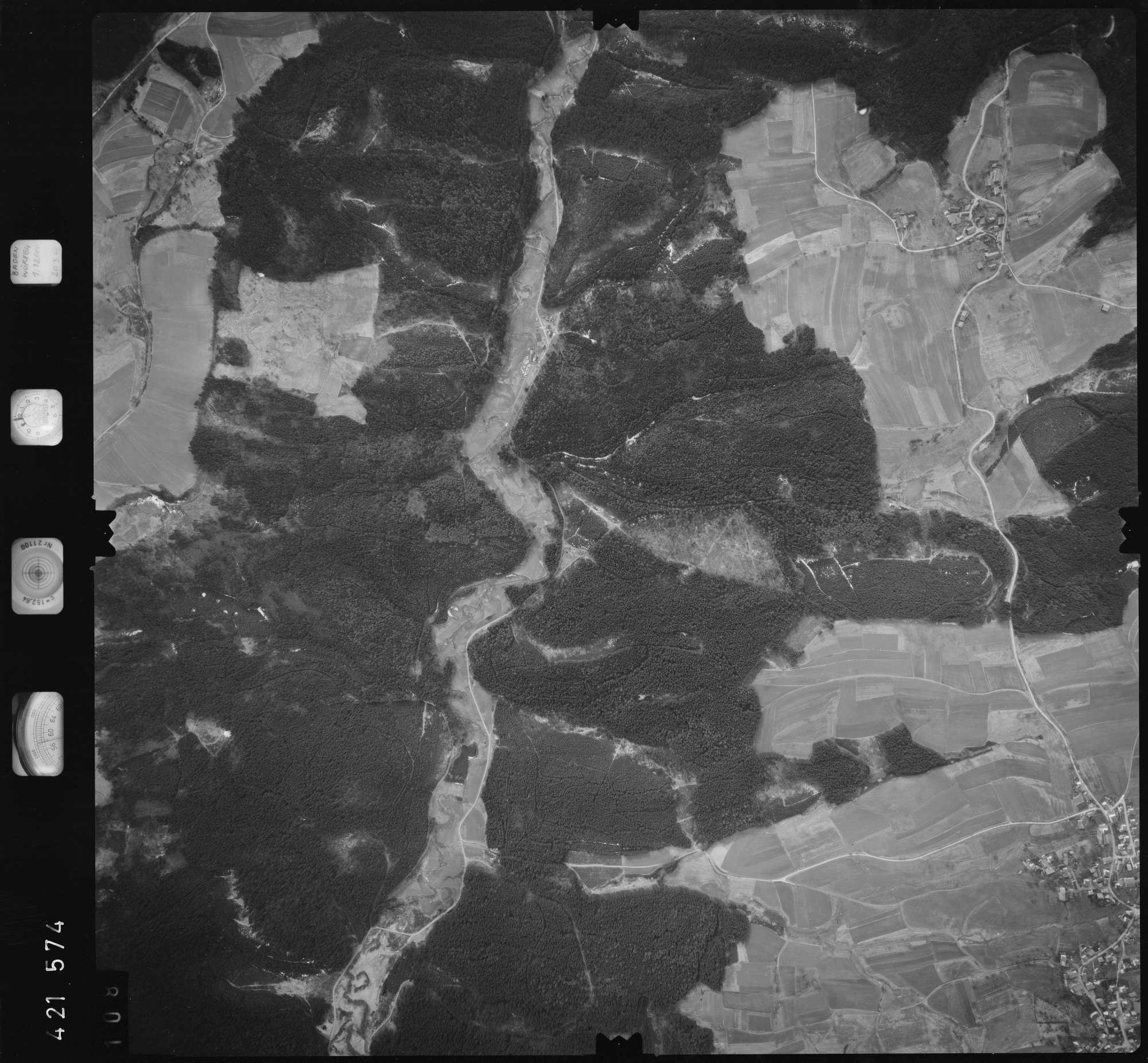 Luftbild: Film 1 Bildnr. 108, Bild 1