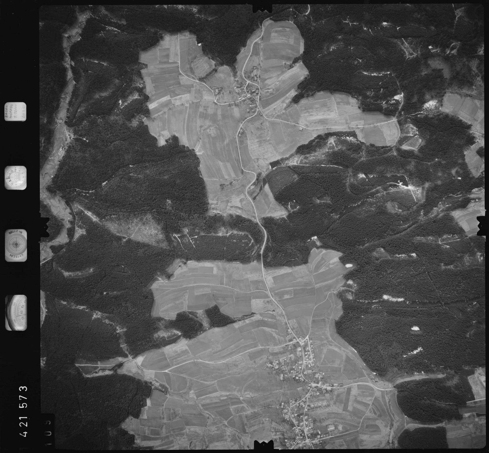 Luftbild: Film 1 Bildnr. 109, Bild 1