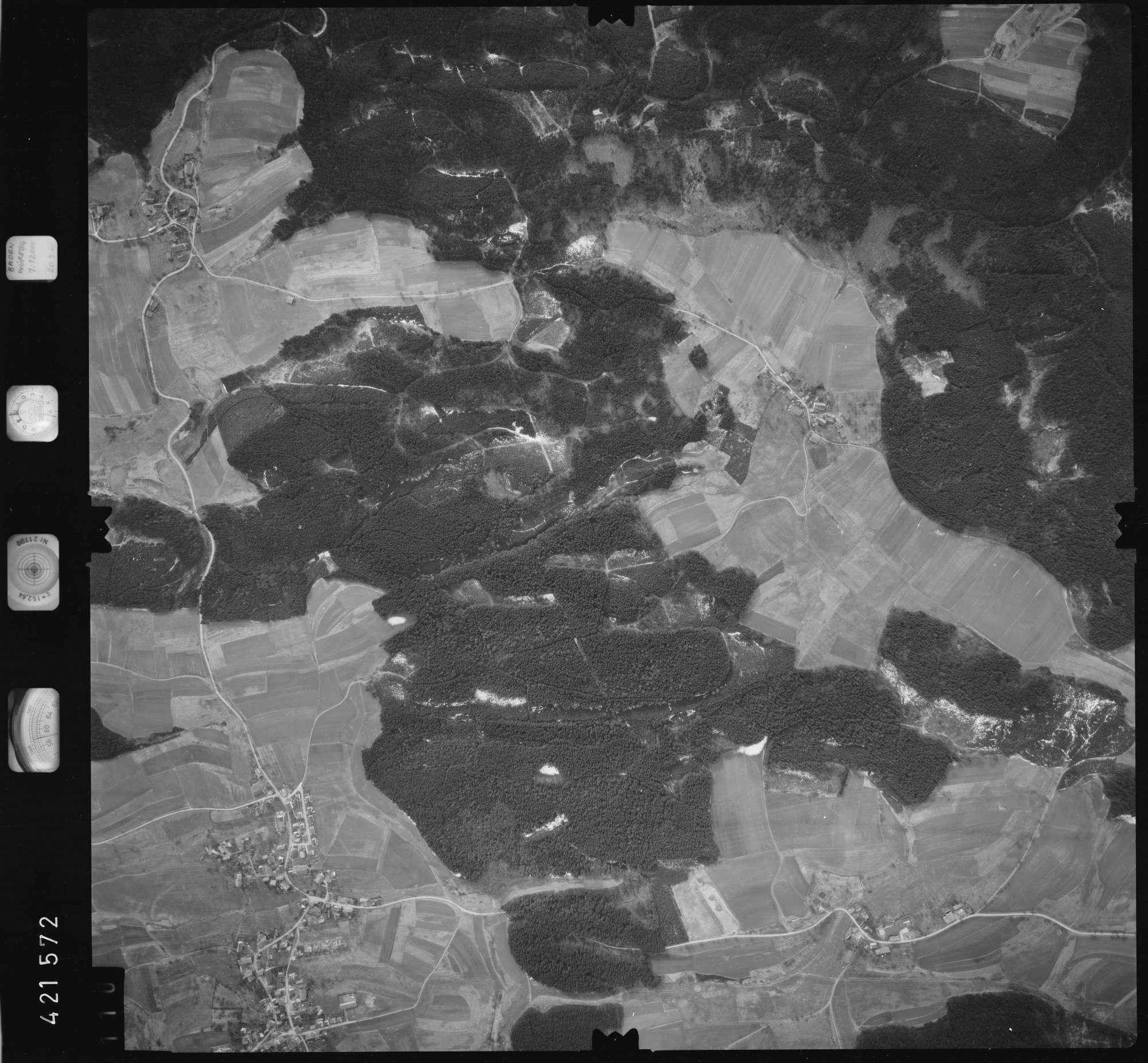 Luftbild: Film 1 Bildnr. 110, Bild 1
