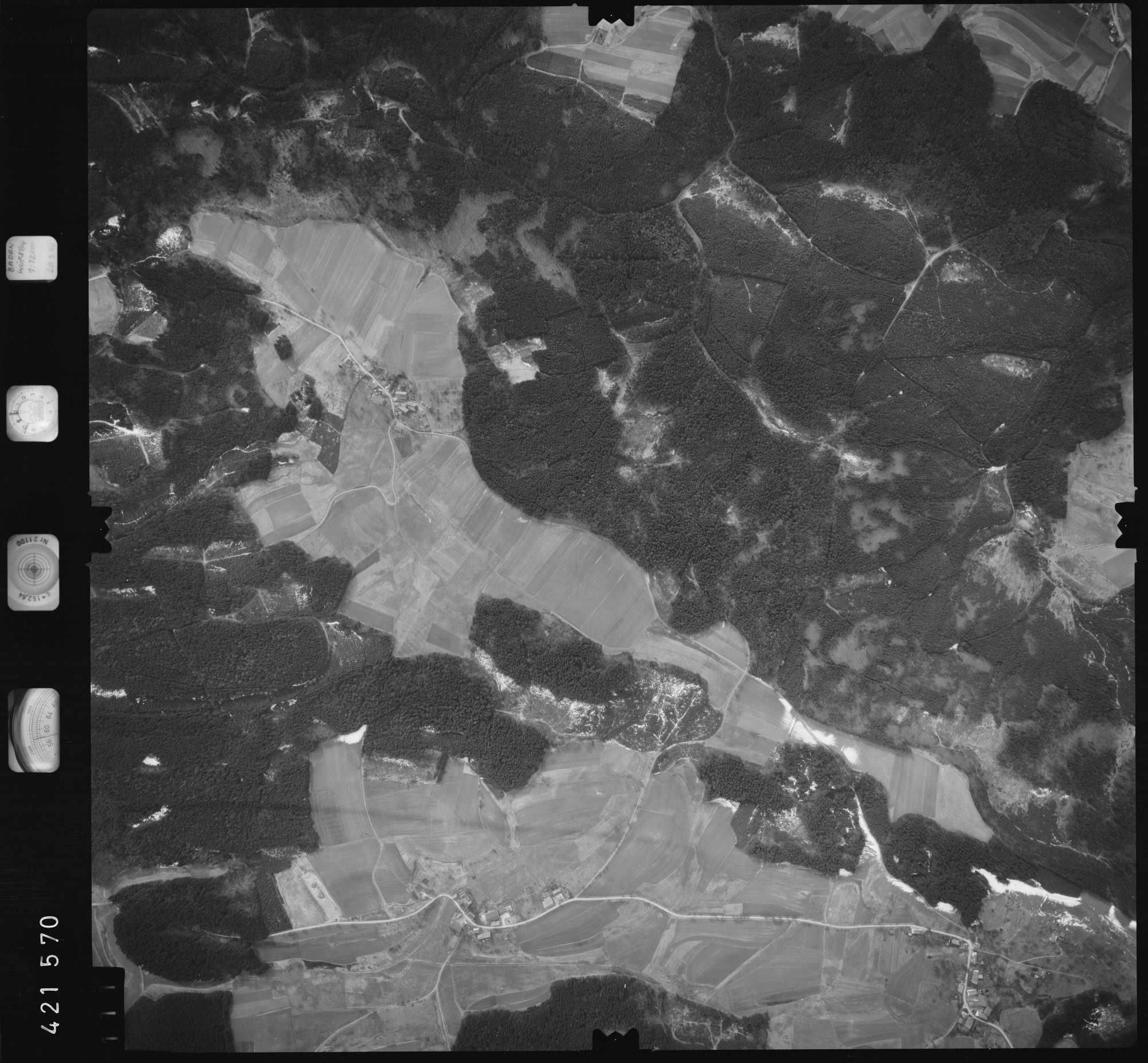 Luftbild: Film 1 Bildnr. 111, Bild 1