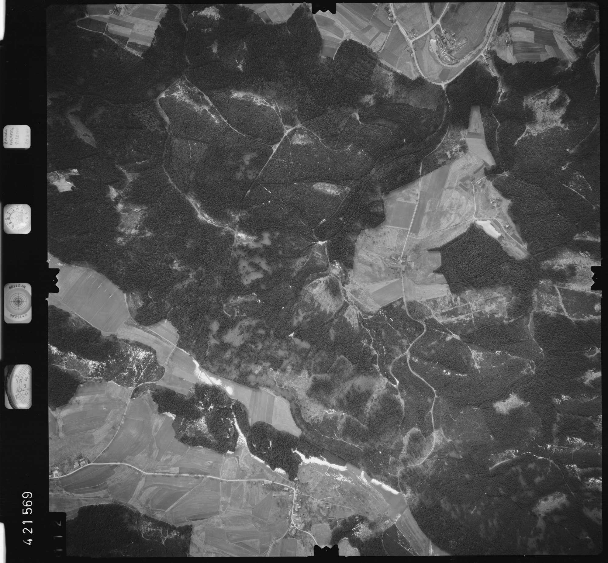 Luftbild: Film 1 Bildnr. 112, Bild 1