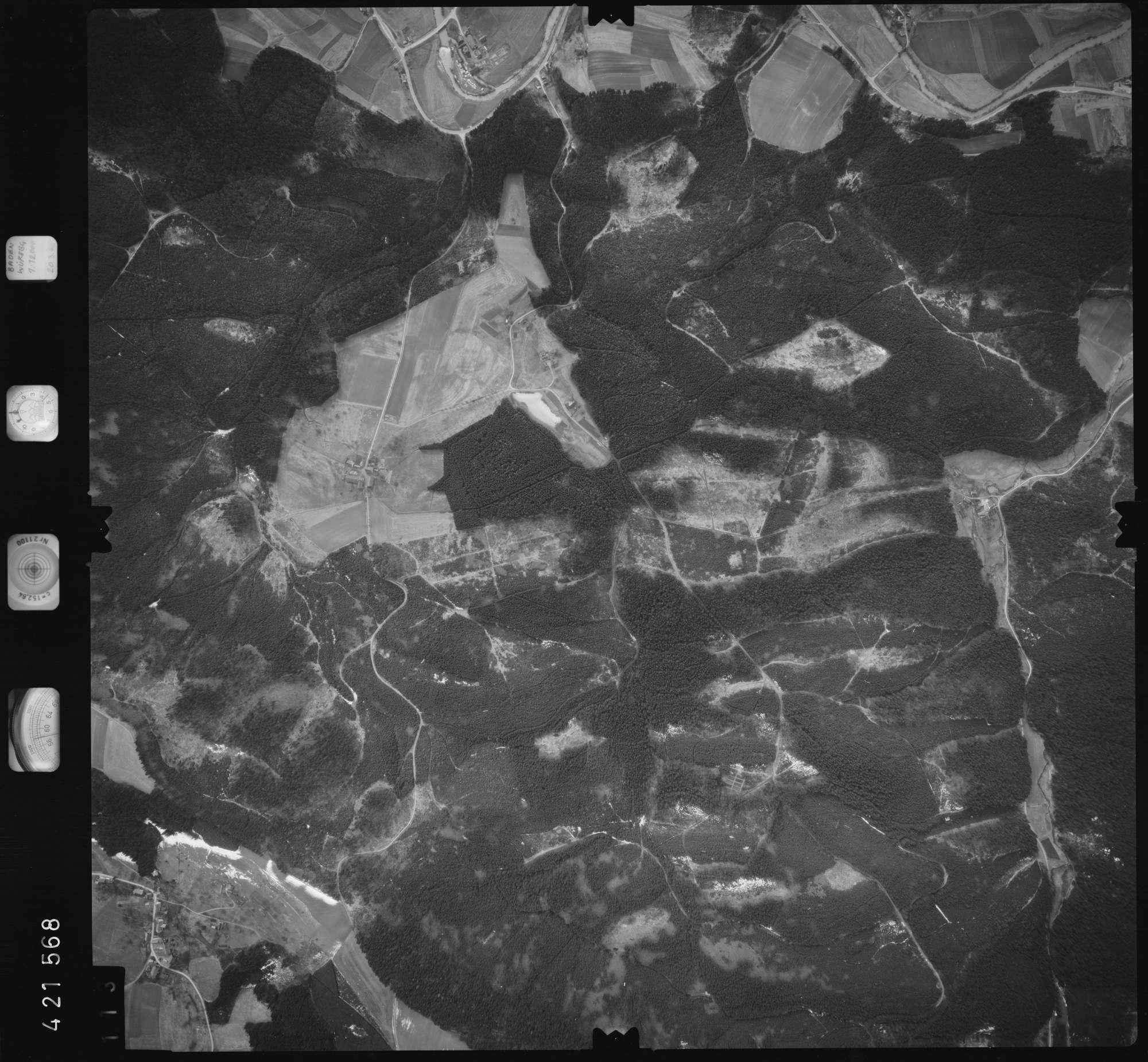 Luftbild: Film 1 Bildnr. 113, Bild 1