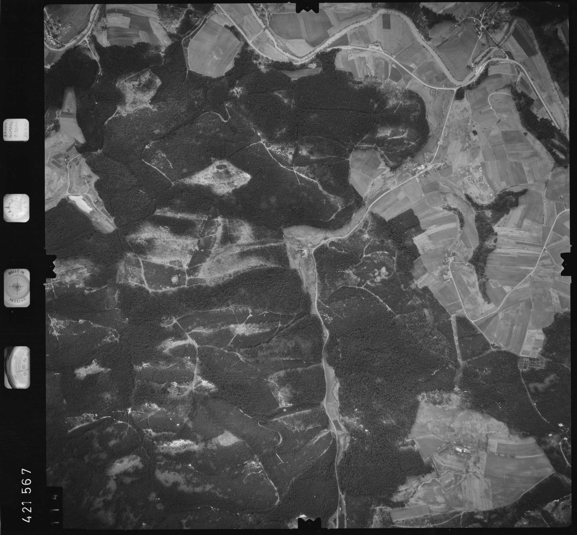 Luftbild: Film 1 Bildnr. 114, Bild 1