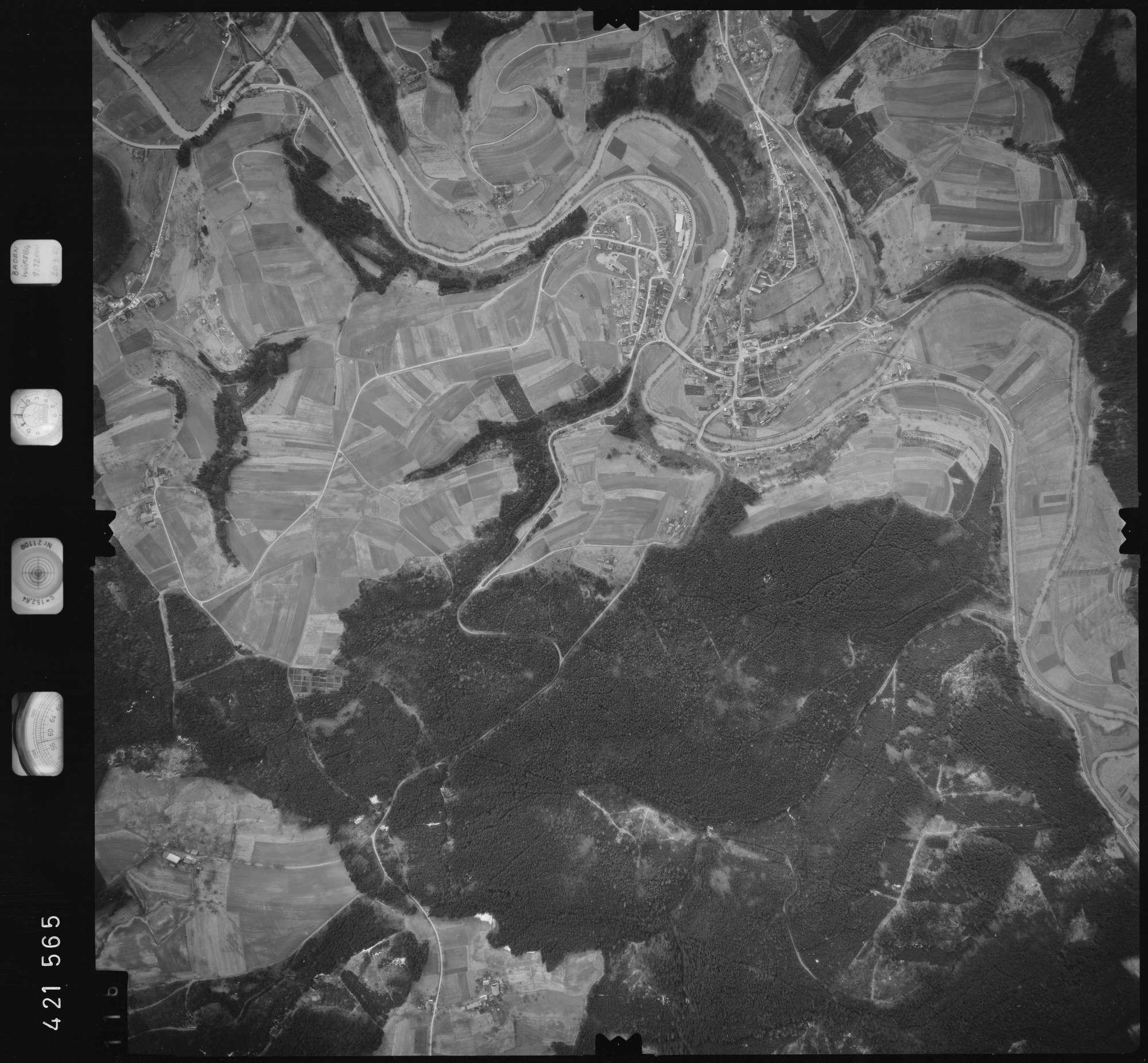 Luftbild: Film 1 Bildnr. 116, Bild 1