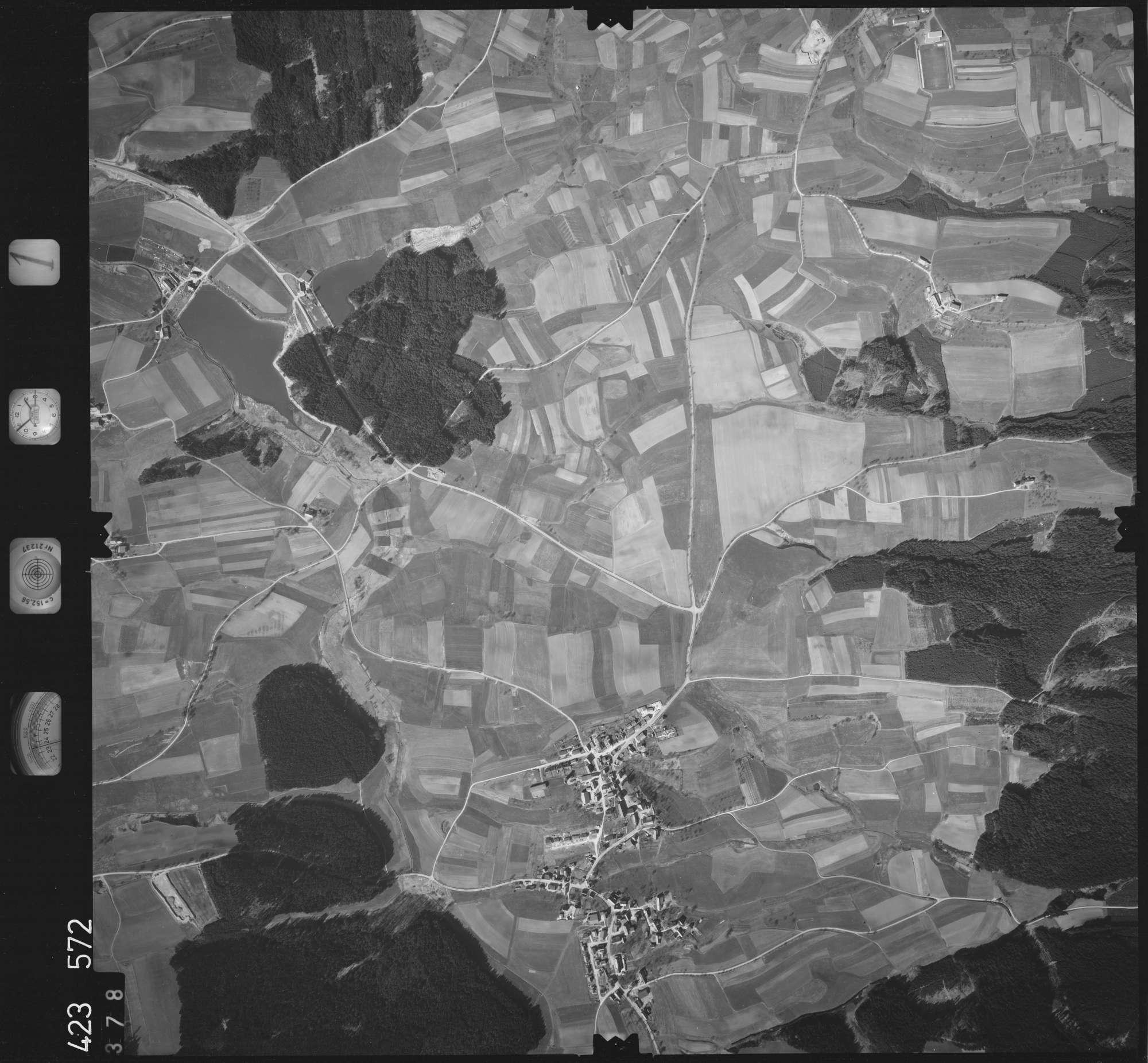 Luftbild: Film 1 Bildnr. 378, Bild 1