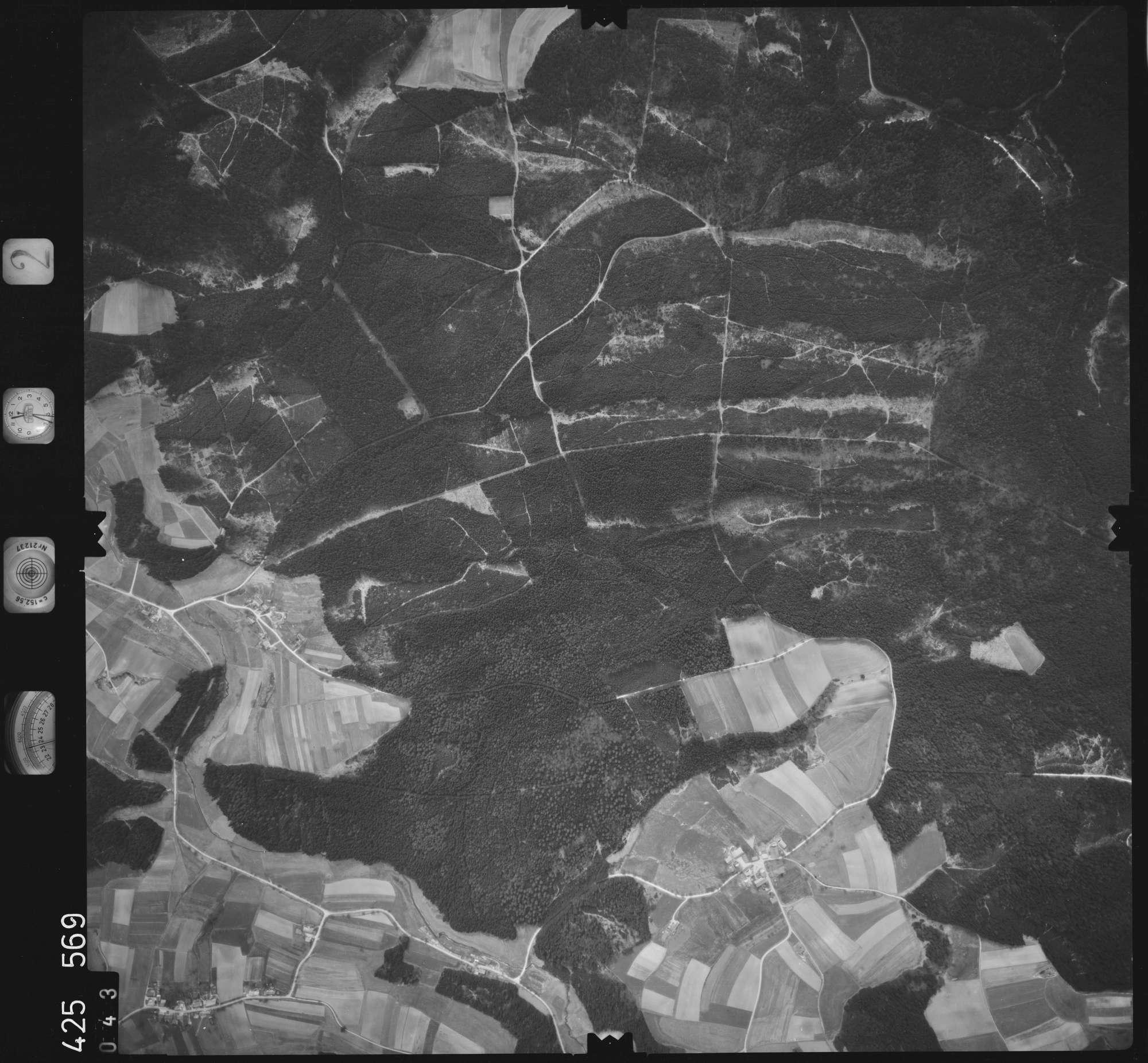 Luftbild: Film 2 Bildnr. 43, Bild 1