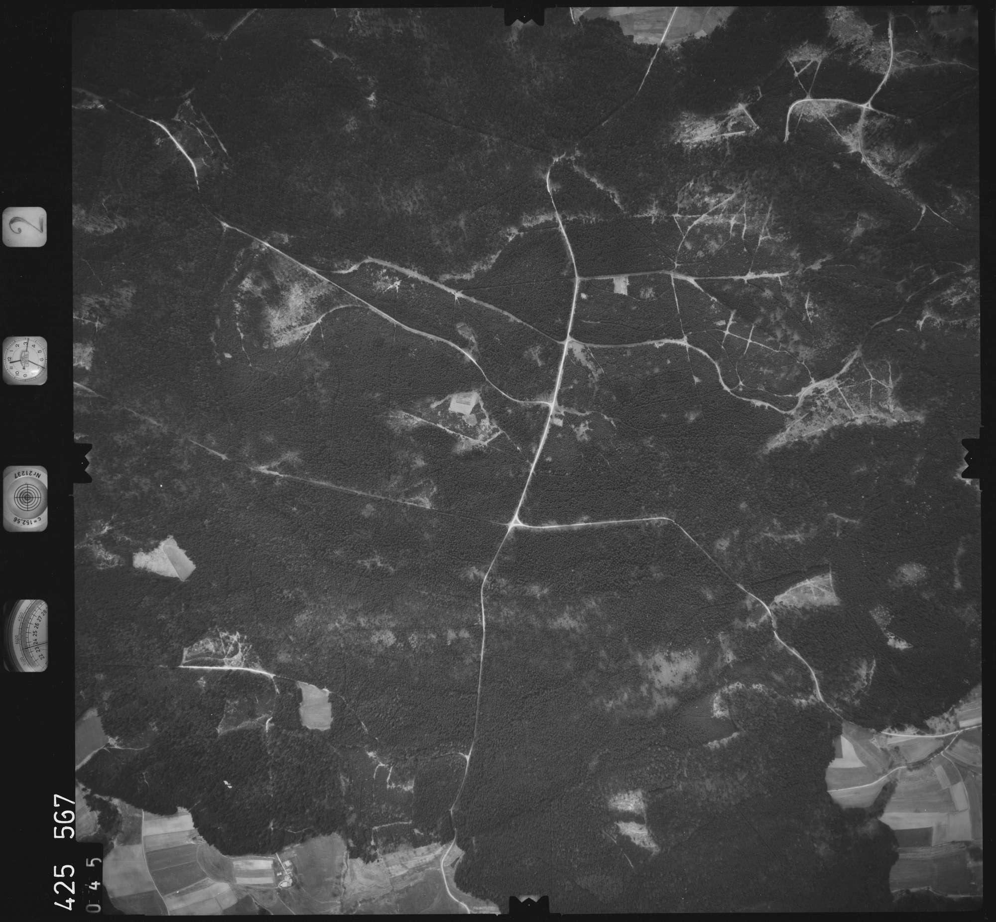 Luftbild: Film 2 Bildnr. 45, Bild 1