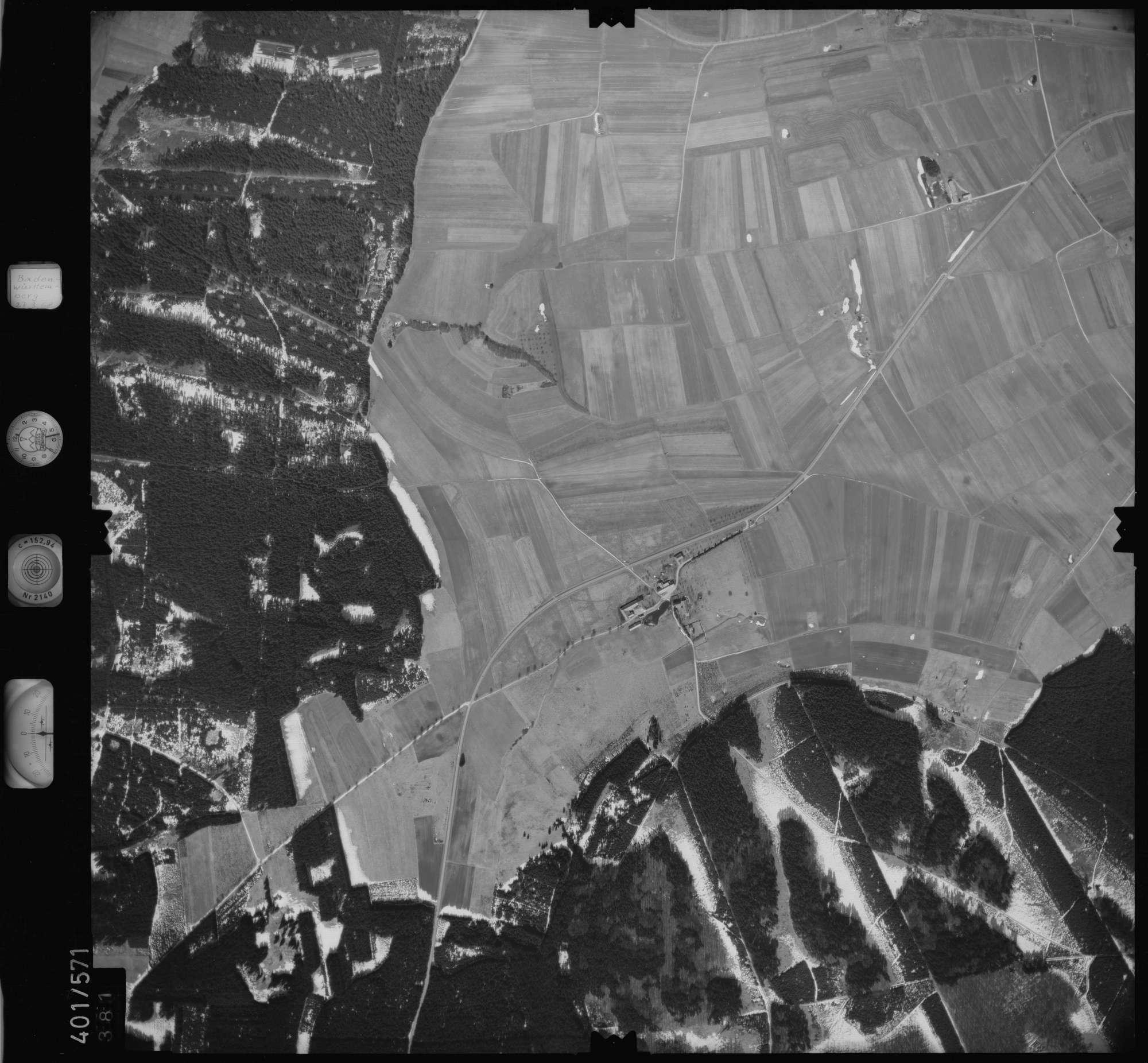 Luftbild: Film 10 Bildnr. 381, Bild 1