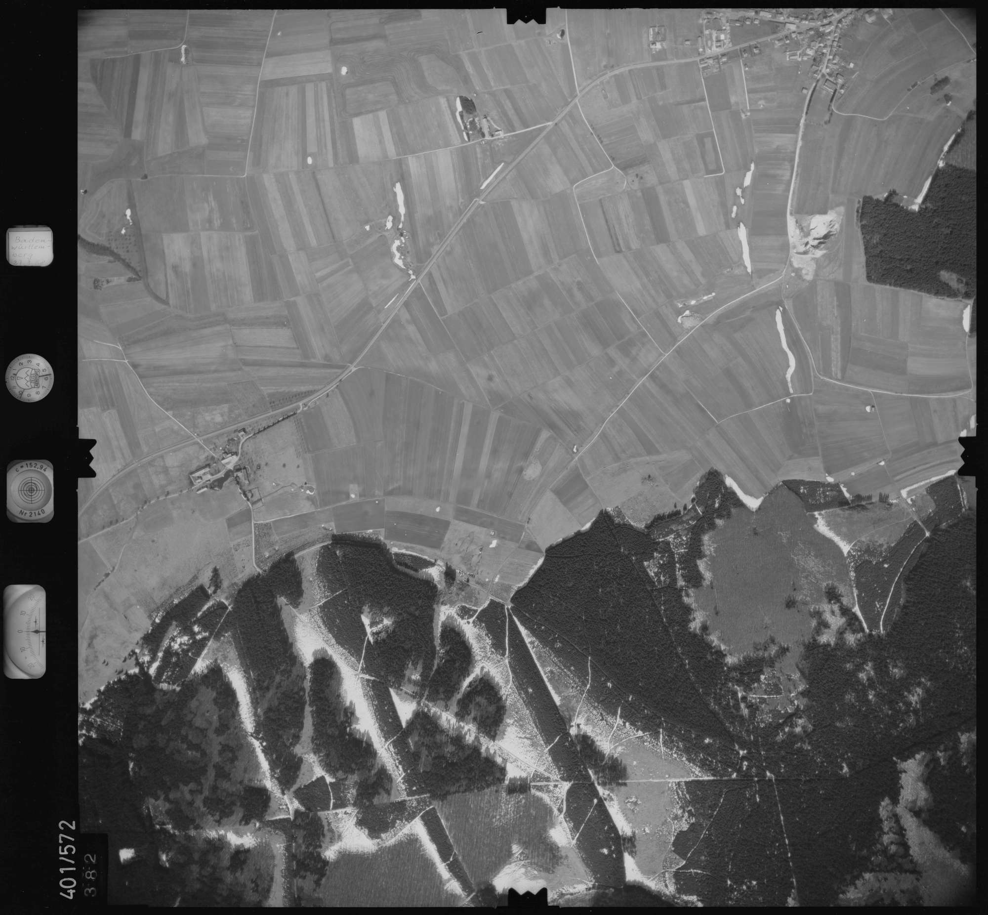 Luftbild: Film 10 Bildnr. 382, Bild 1