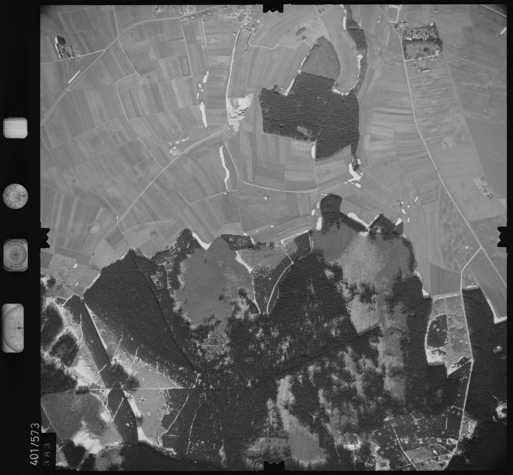 Luftbild: Film 10 Bildnr. 383, Bild 1