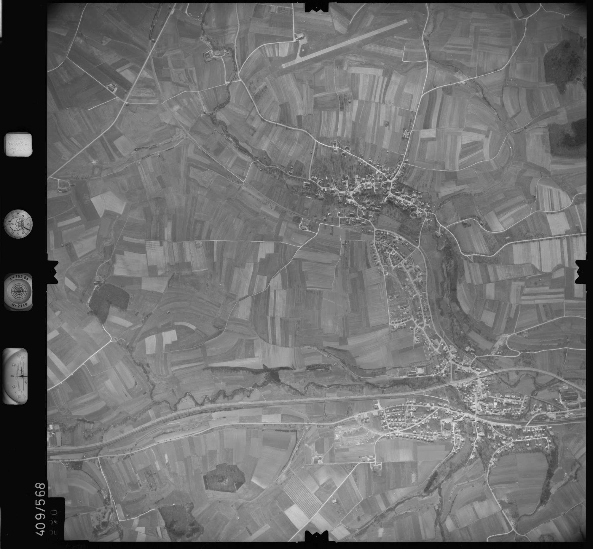 Luftbild: Film 7 Bildnr. 650, Bild 1