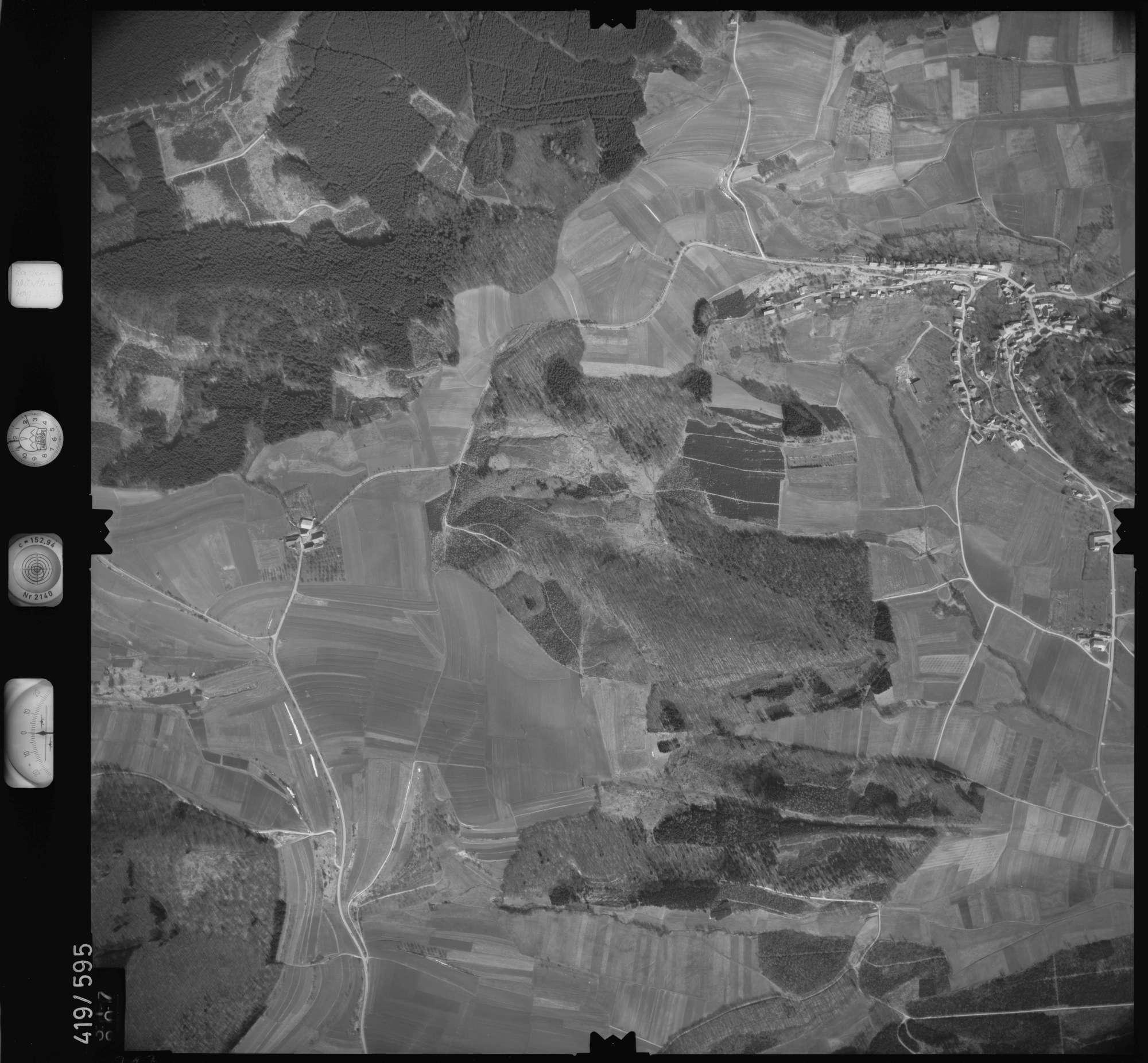 Luftbild: Film 6 Bildnr. 317, Bild 1