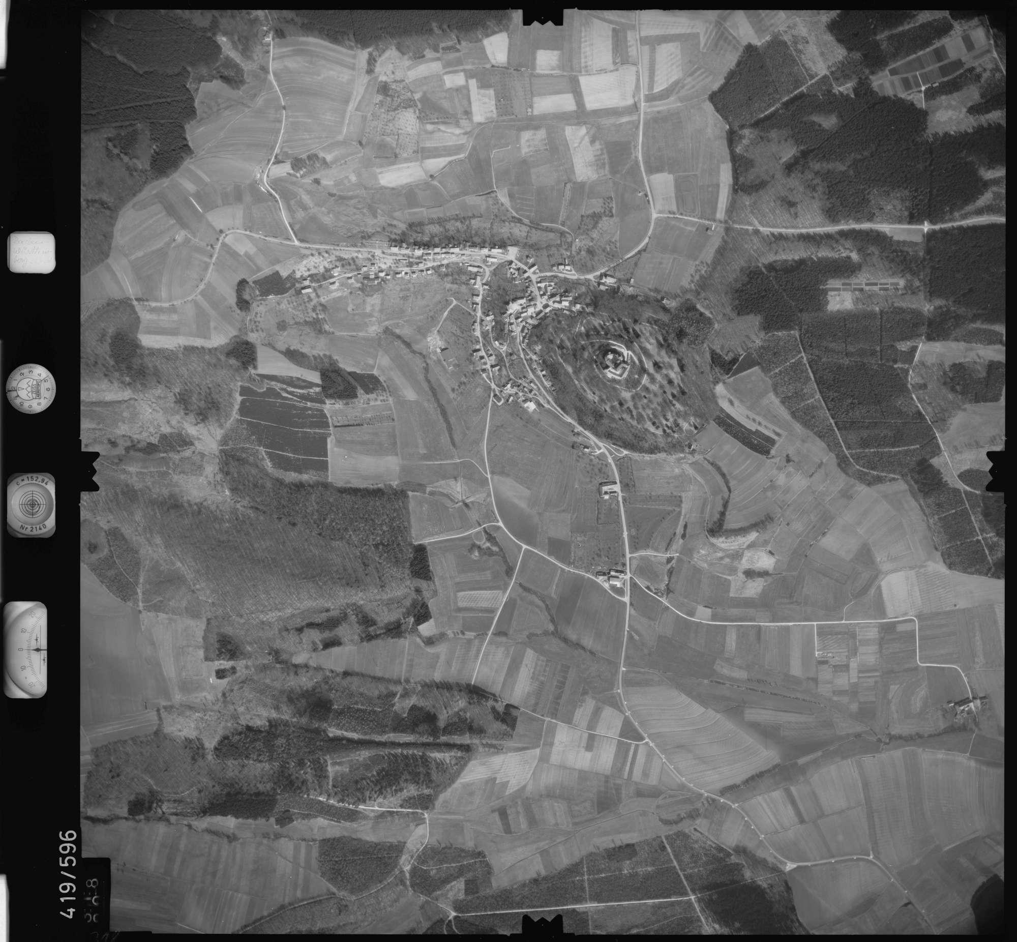 Luftbild: Film 6 Bildnr. 318, Bild 1