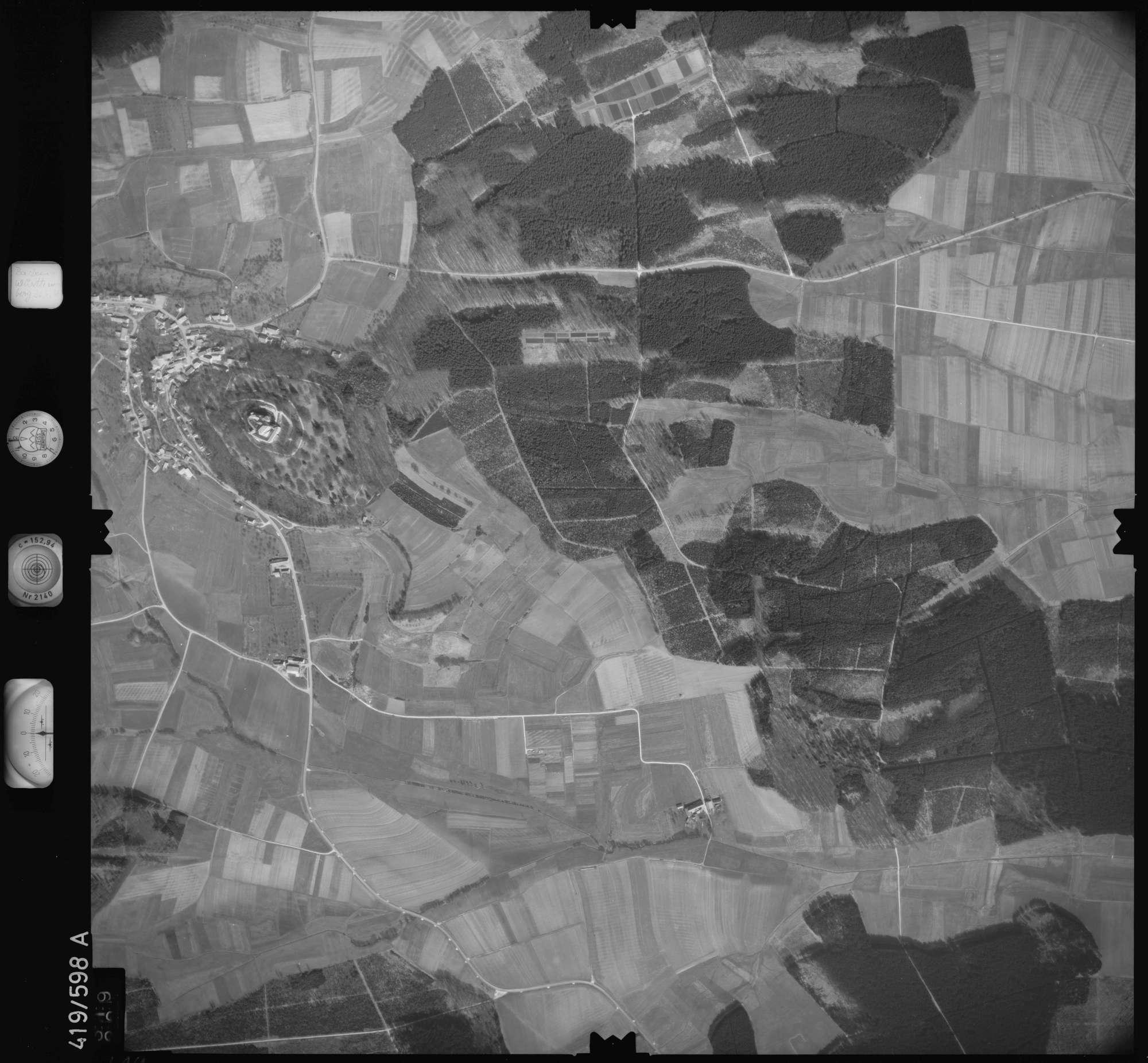 Luftbild: Film 6 Bildnr. 319, Bild 1