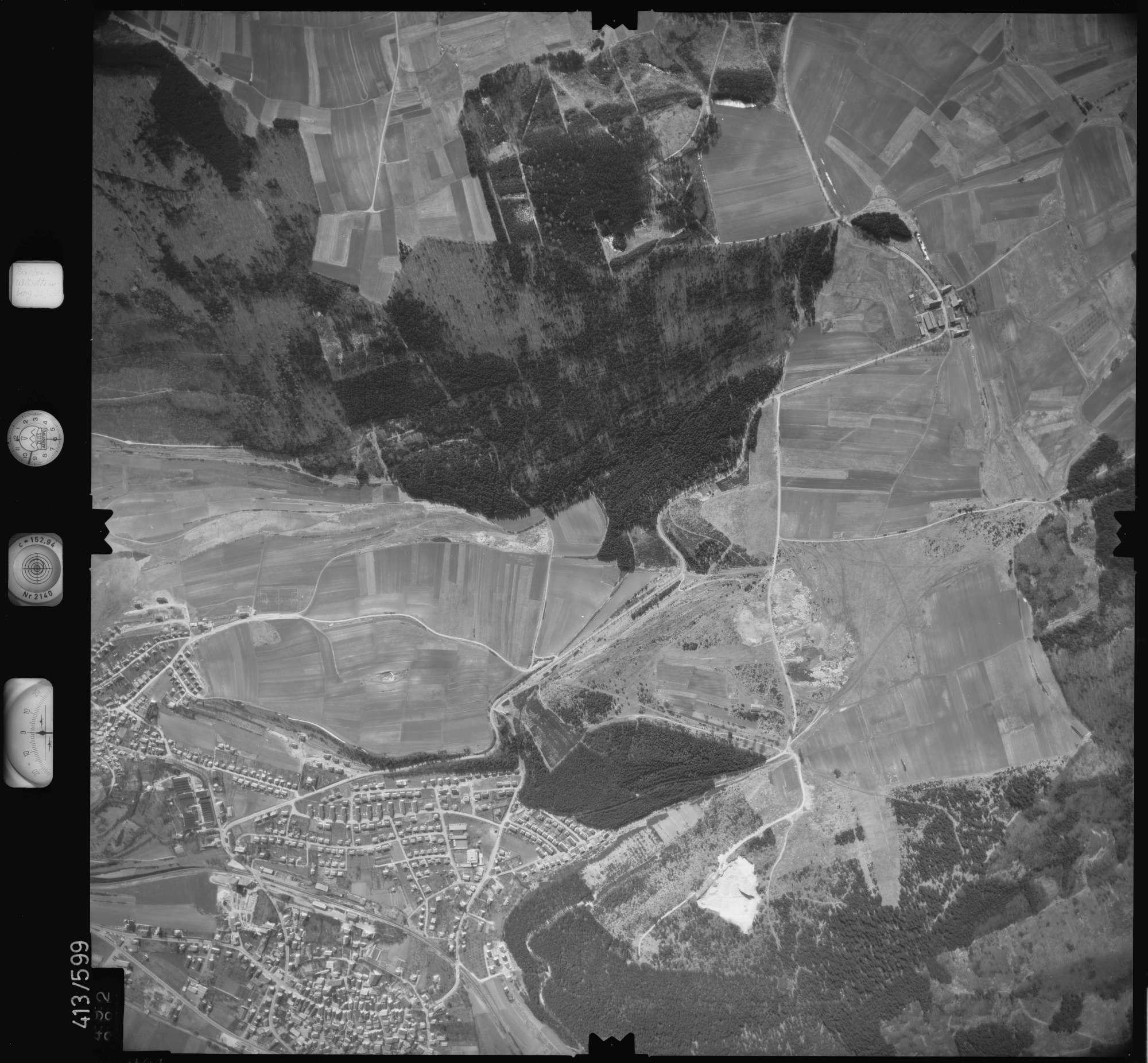 Luftbild: Film 6 Bildnr. 492, Bild 1