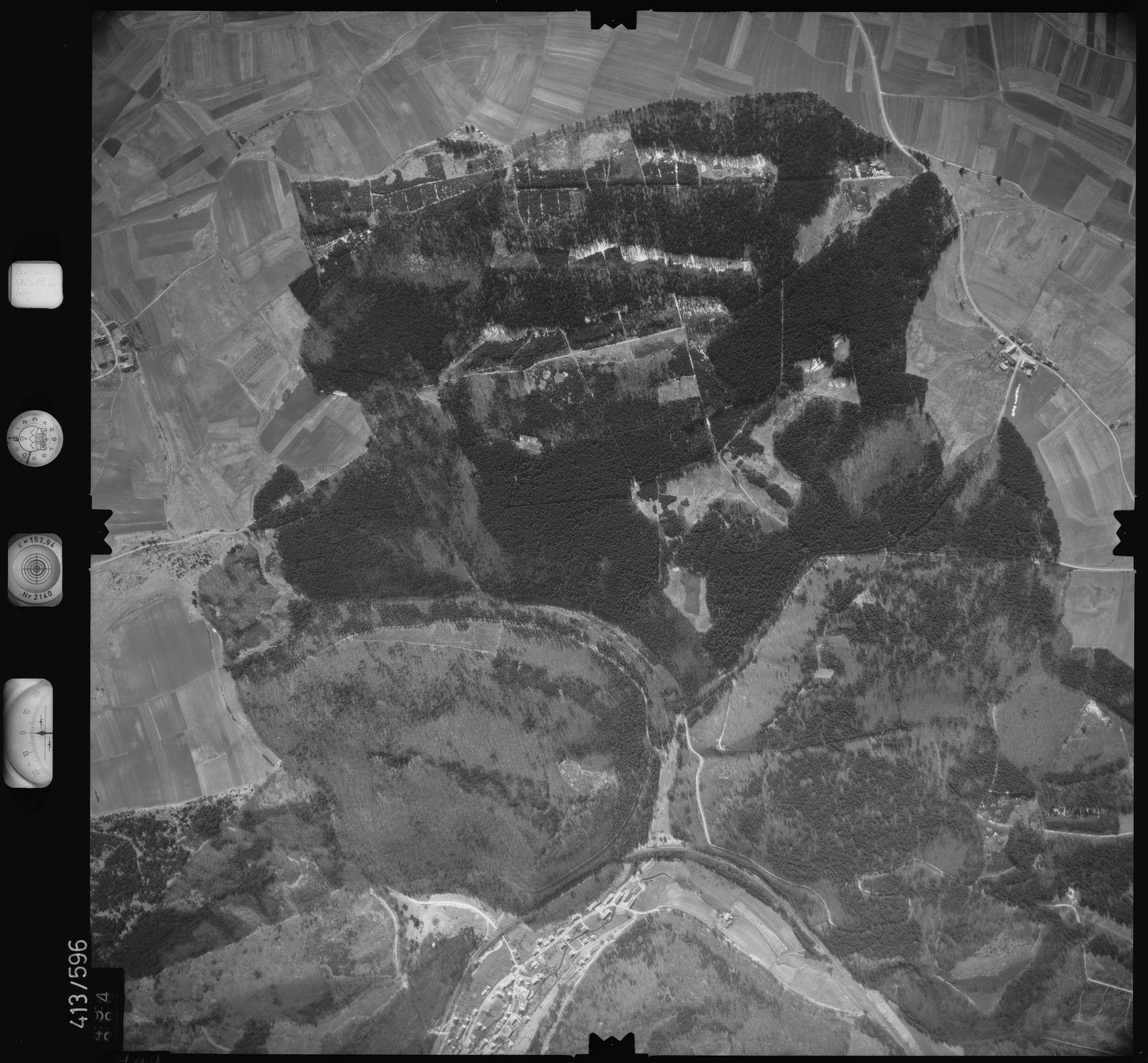 Luftbild: Film 6 Bildnr. 494, Bild 1