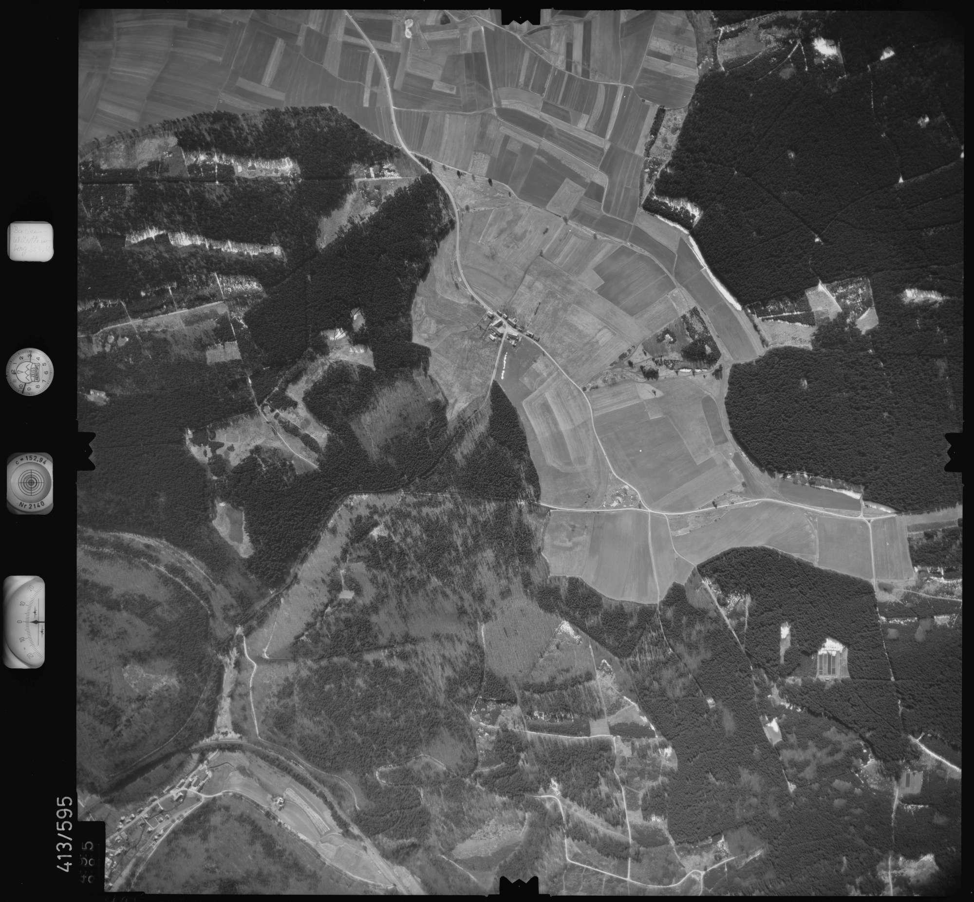 Luftbild: Film 6 Bildnr. 495, Bild 1