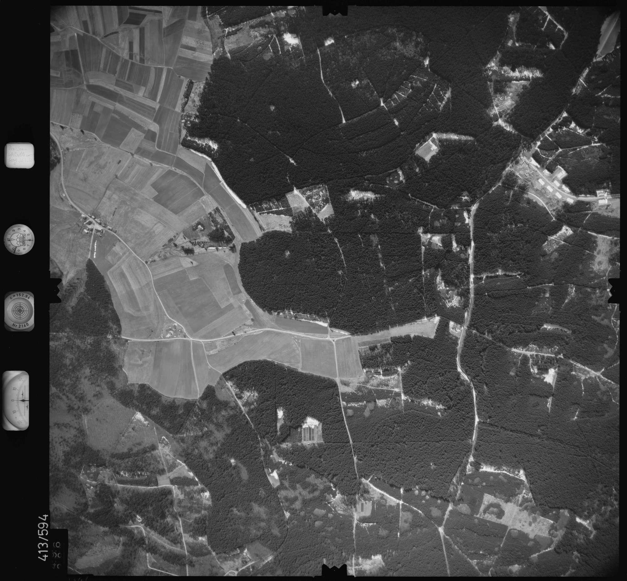Luftbild: Film 6 Bildnr. 496, Bild 1