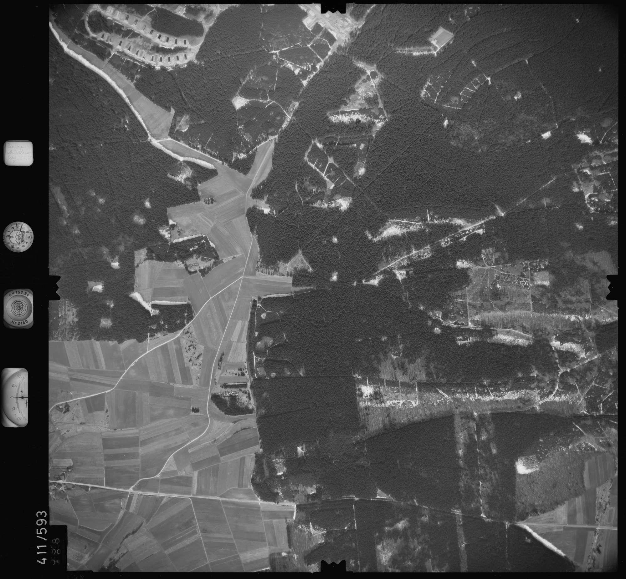 Luftbild: Film 7 Bildnr. 598, Bild 1